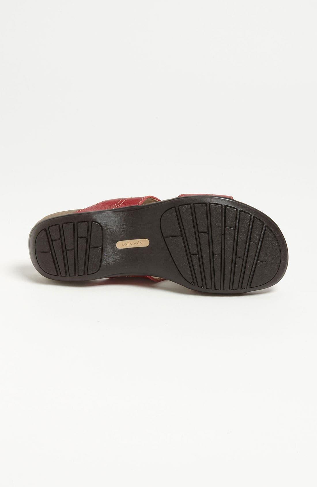 Alternate Image 4  - Softspots Beaded Sandal