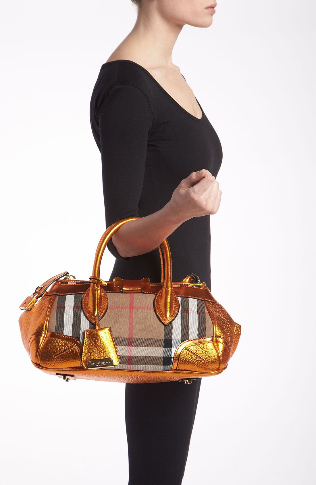 Alternate Image 2  - Burberry Prorsum 'Blaze' House Check Handbag