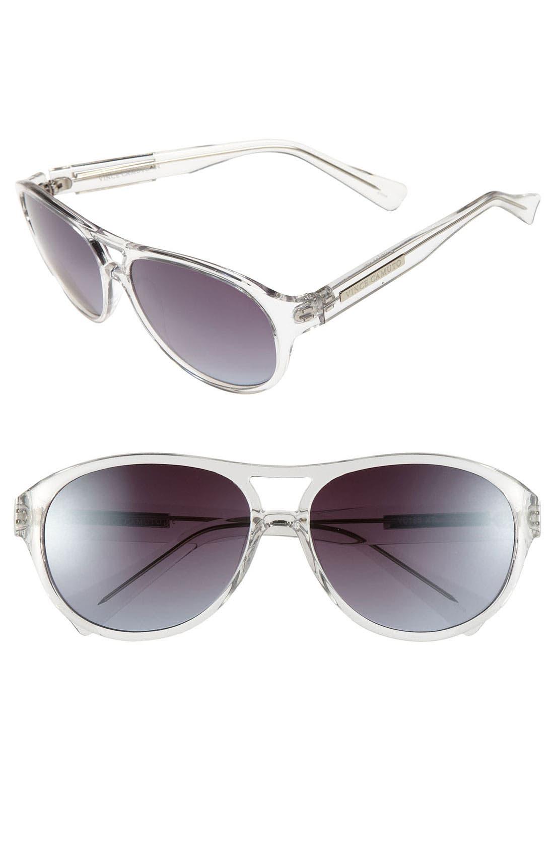 Main Image - Vince Camuto 46mm Navigator Sunglasses
