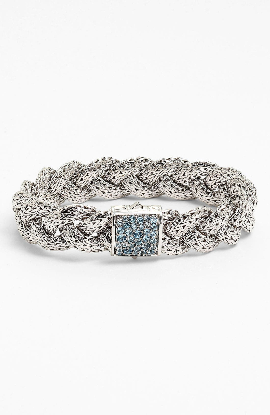 Alternate Image 1 Selected - John Hardy 'Classic Chain' Medium Braided Bracelet
