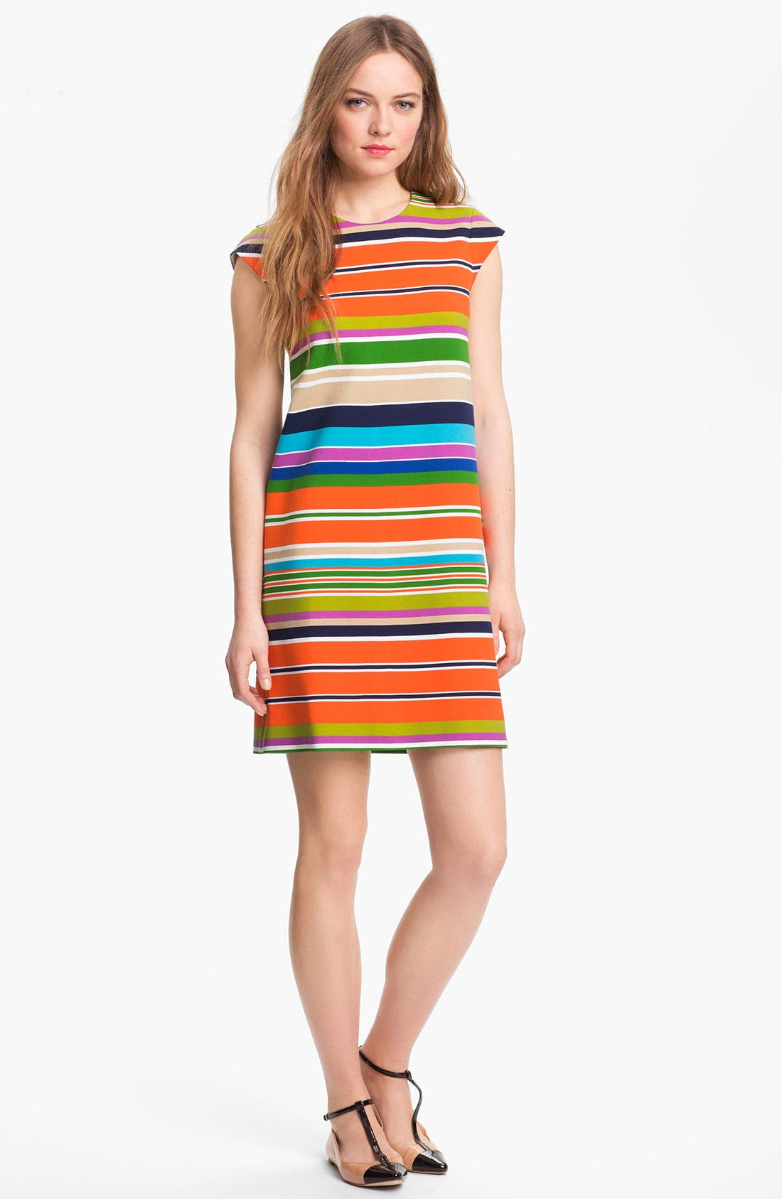 Alternate Image 1 Selected - kate spade new york 'nico' stretch shift dress