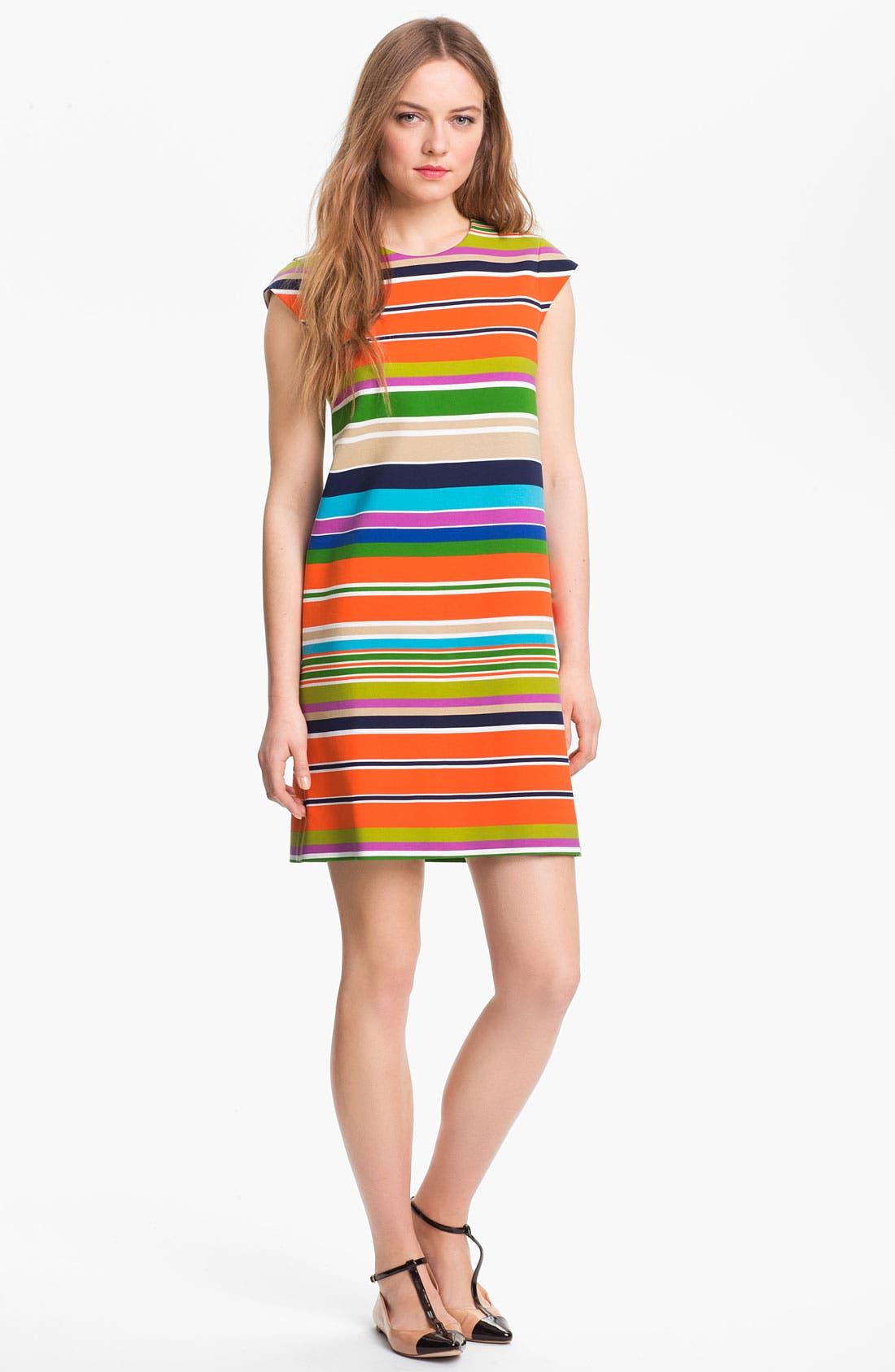 Main Image - kate spade new york 'nico' stretch shift dress