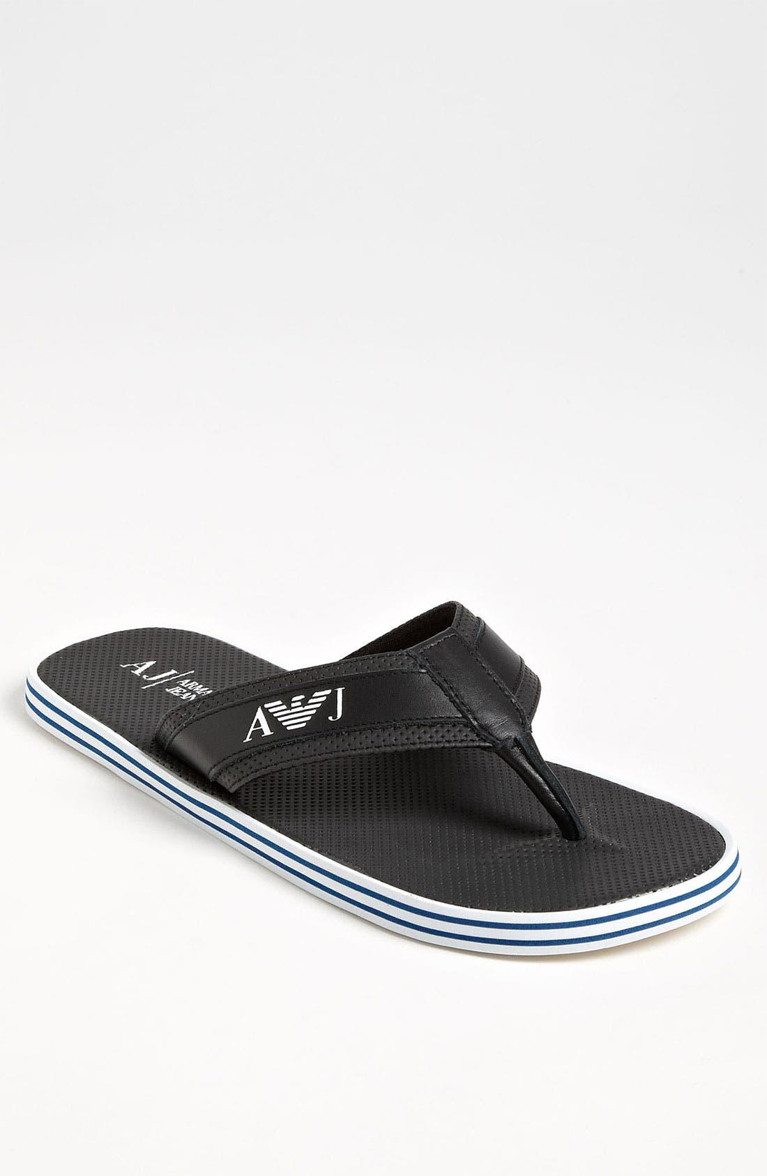 Main Image - Armani Jeans Flip Flop