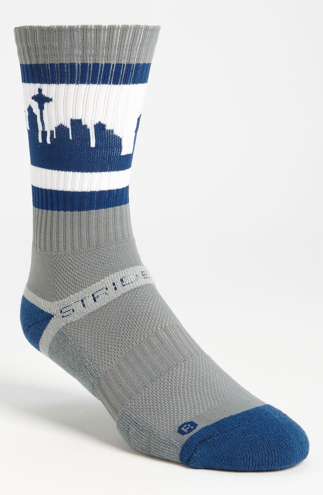 Alternate Image 1 Selected - Strideline 'Georgetown' Sock