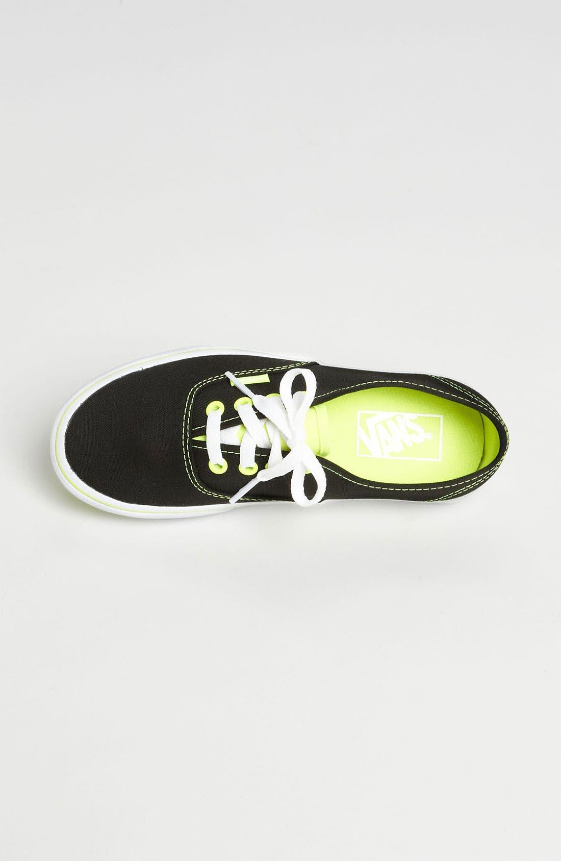 Alternate Image 3  - Vans 'Authentic - Neon Pop' Sneaker (Women)