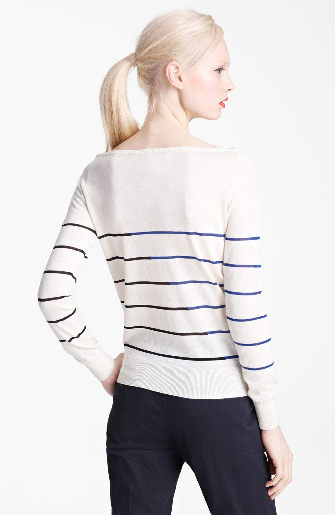 Alternate Image 2  - Band of Outsiders Stripe Sweater