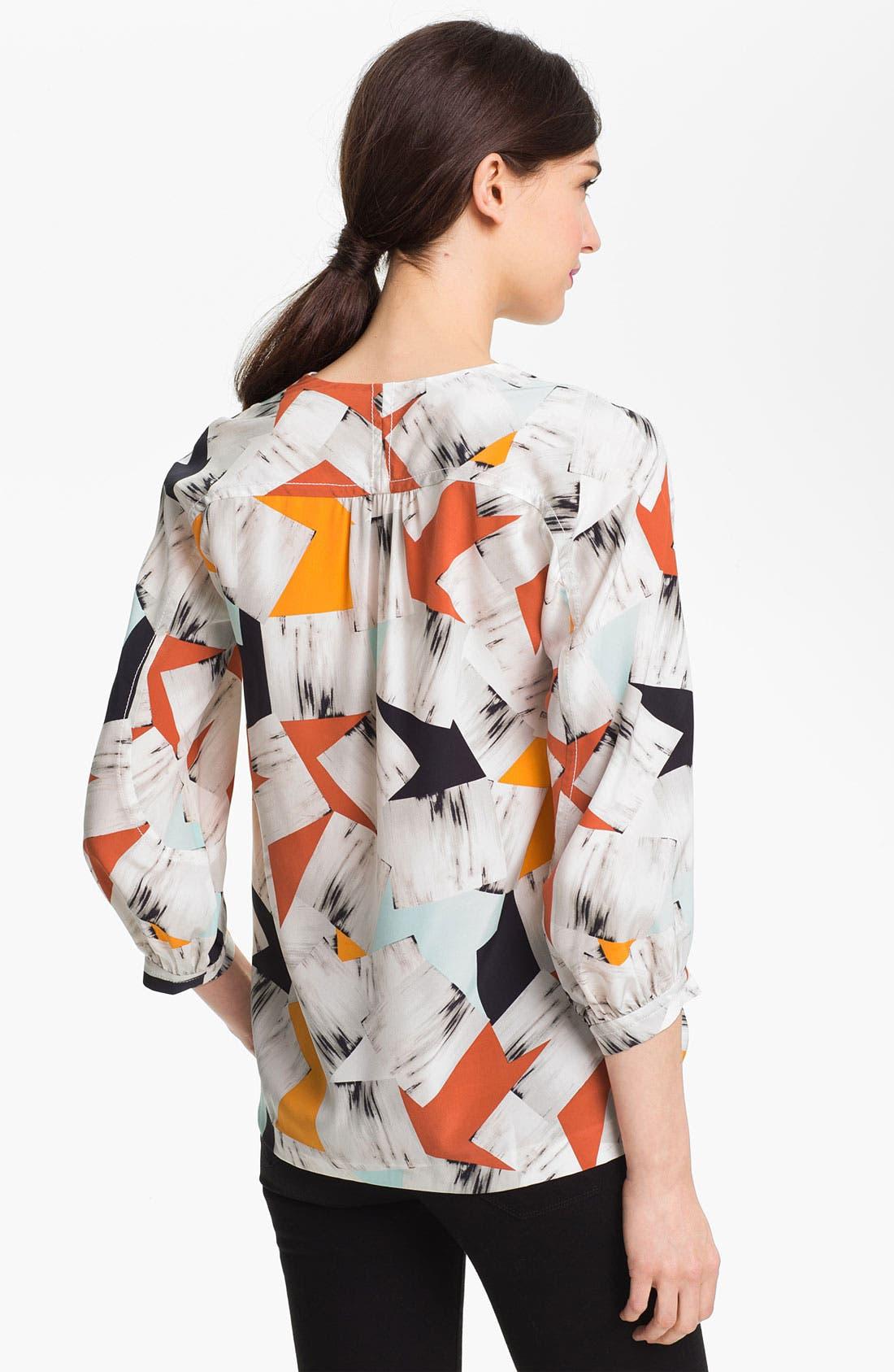 Alternate Image 2  - Diane von Furstenberg 'New Cahil' Silk Blouse
