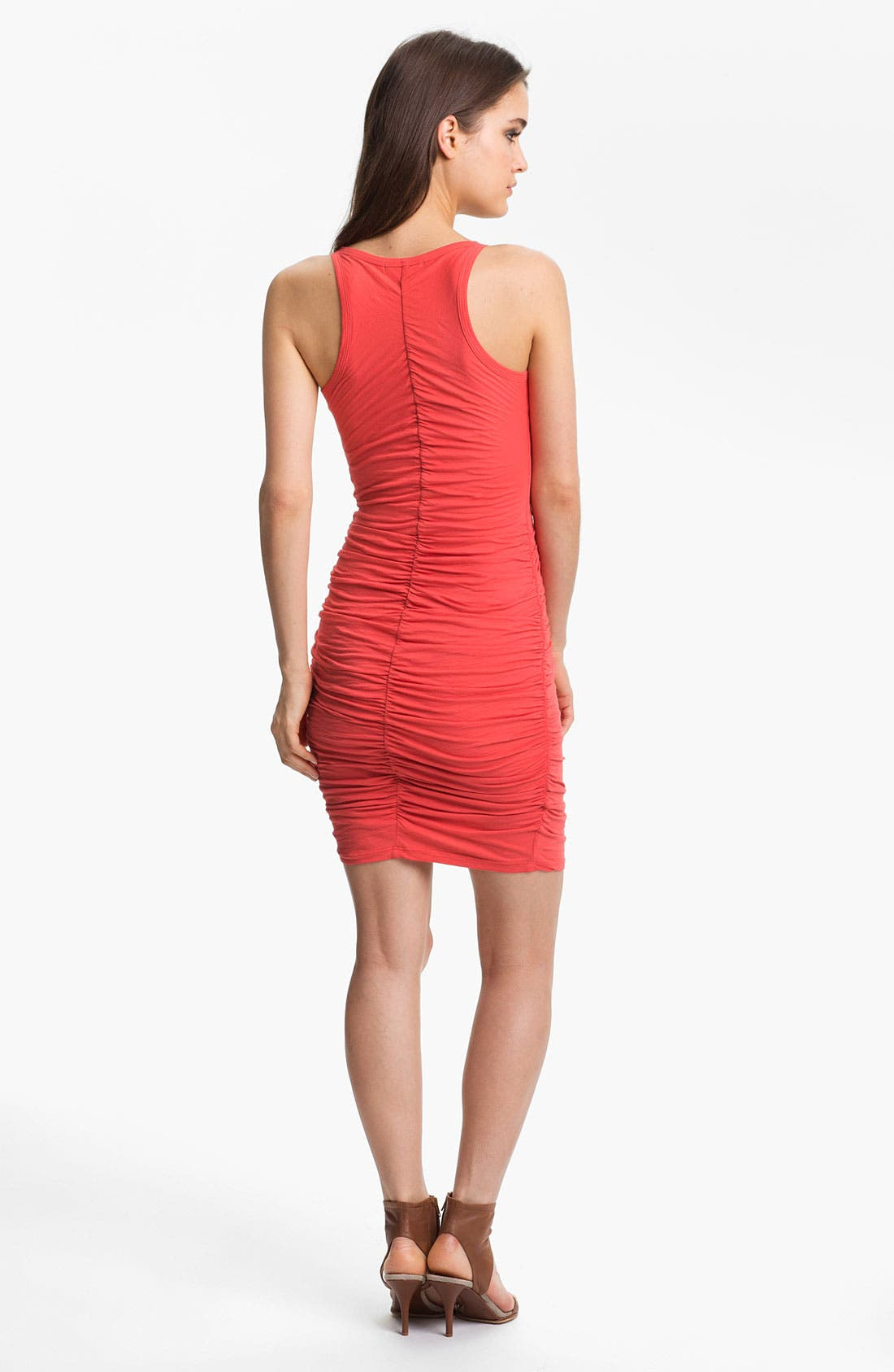 Alternate Image 2  - Velvet by Graham & Spencer Ruched Jersey Racerback Tank Dress