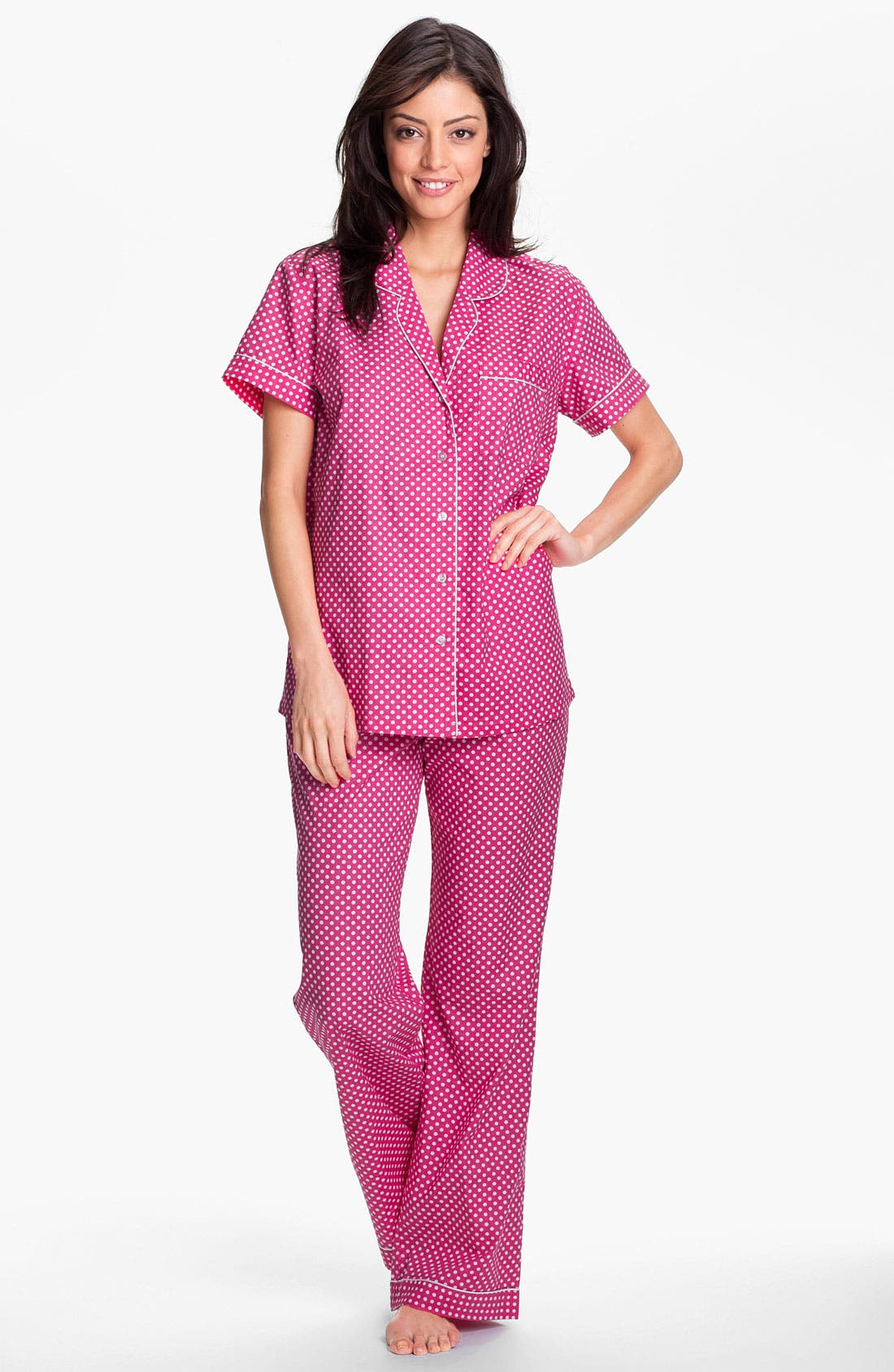 Alternate Image 1 Selected - Nordstrom Poplin Pajamas