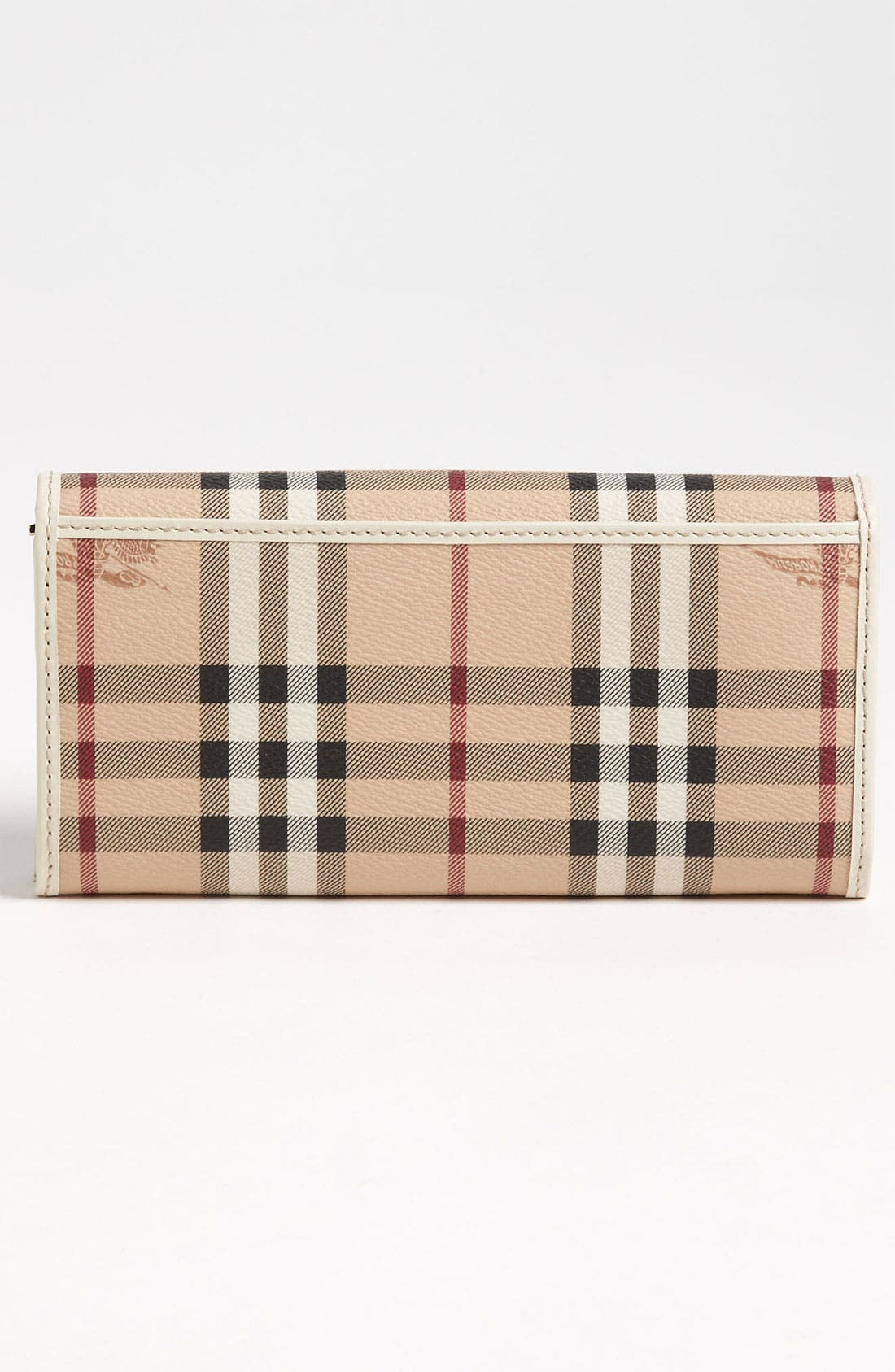 Alternate Image 4  - Burberry 'Haymarket Check' Flap Wallet