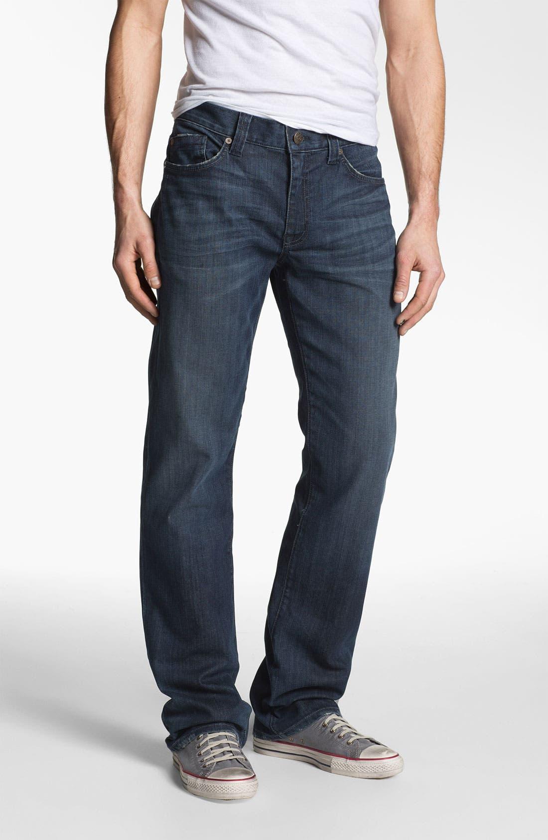 Alternate Image 1 Selected - Fidelity Denim '5011' Straight Leg Jeans (Town Valley Wash)