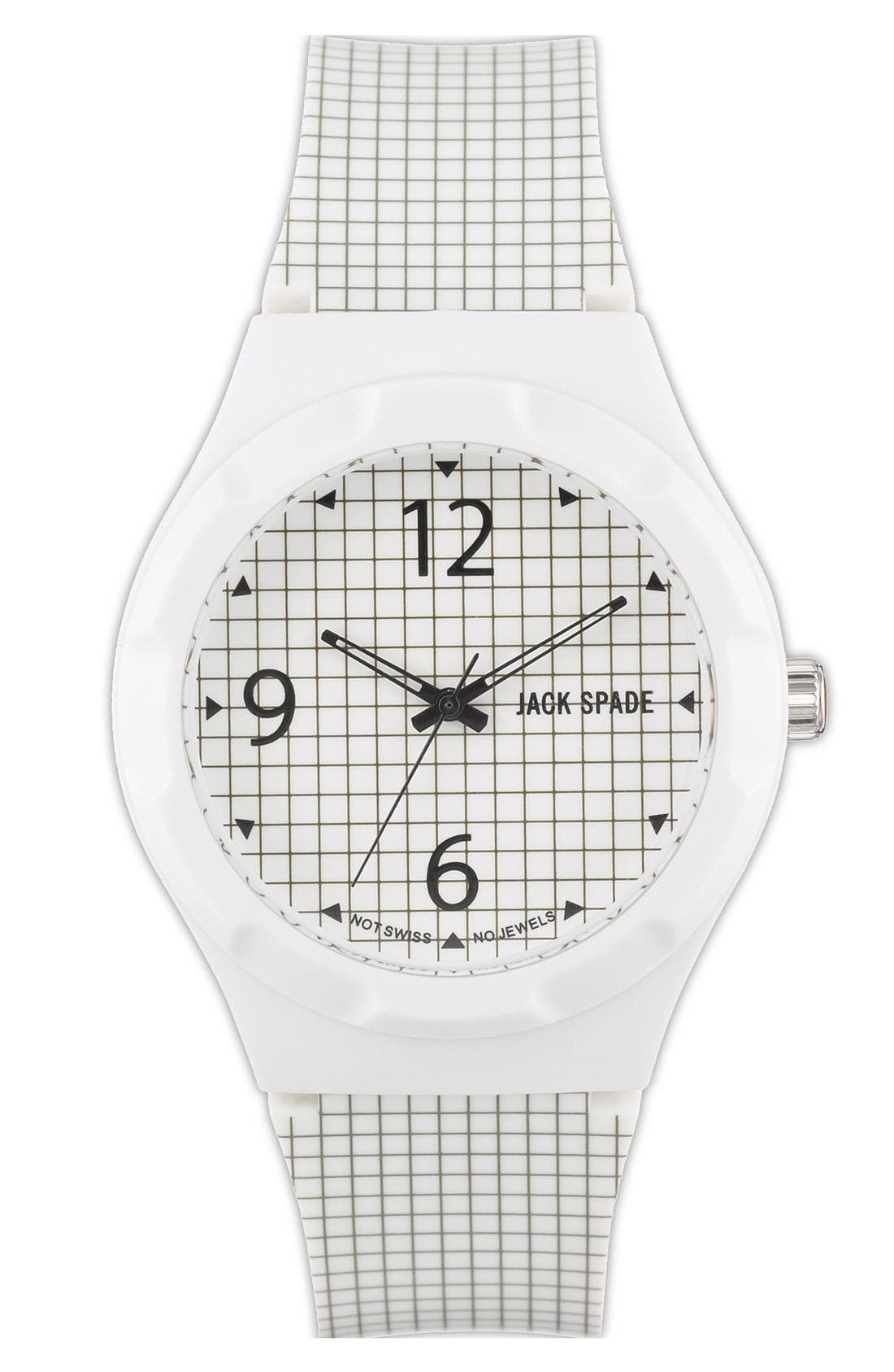 Main Image - Jack Spade 'Graphic - Check' Watch, 40mm