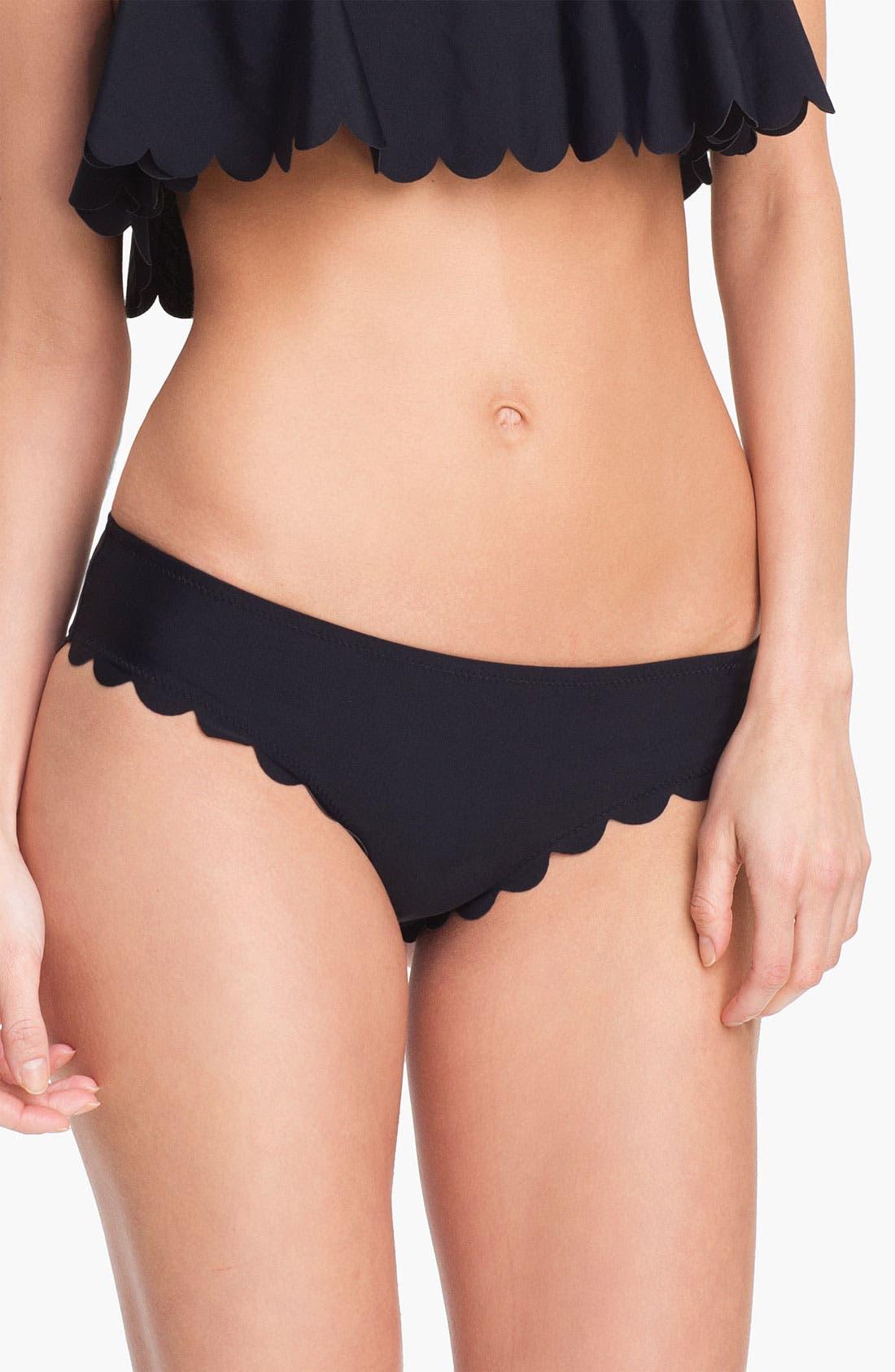 Main Image - Roxy Scalloped Bikini Bottoms