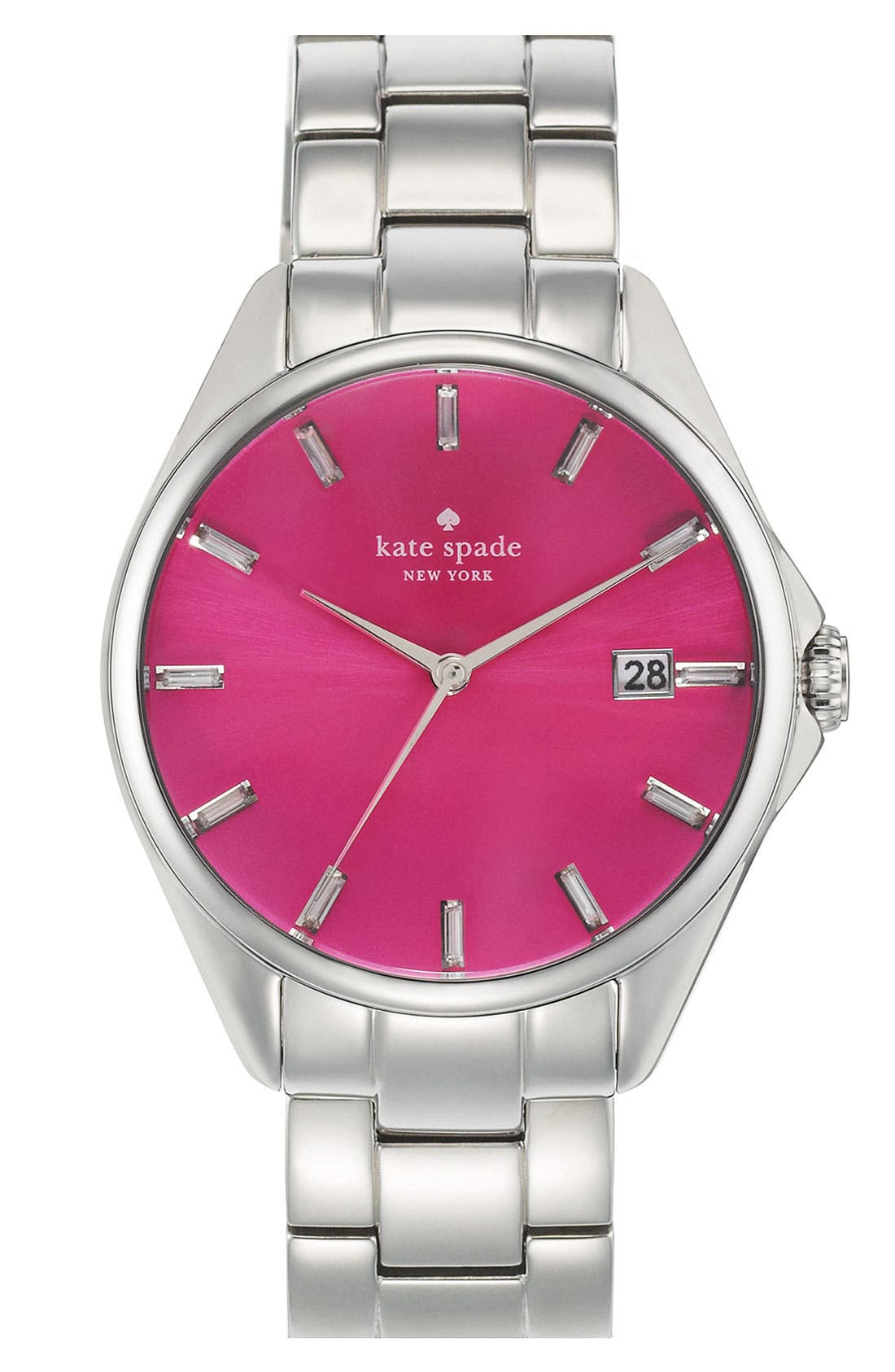 Alternate Image 1 Selected - kate spade new york 'seaport grand' bracelet watch, 38mm