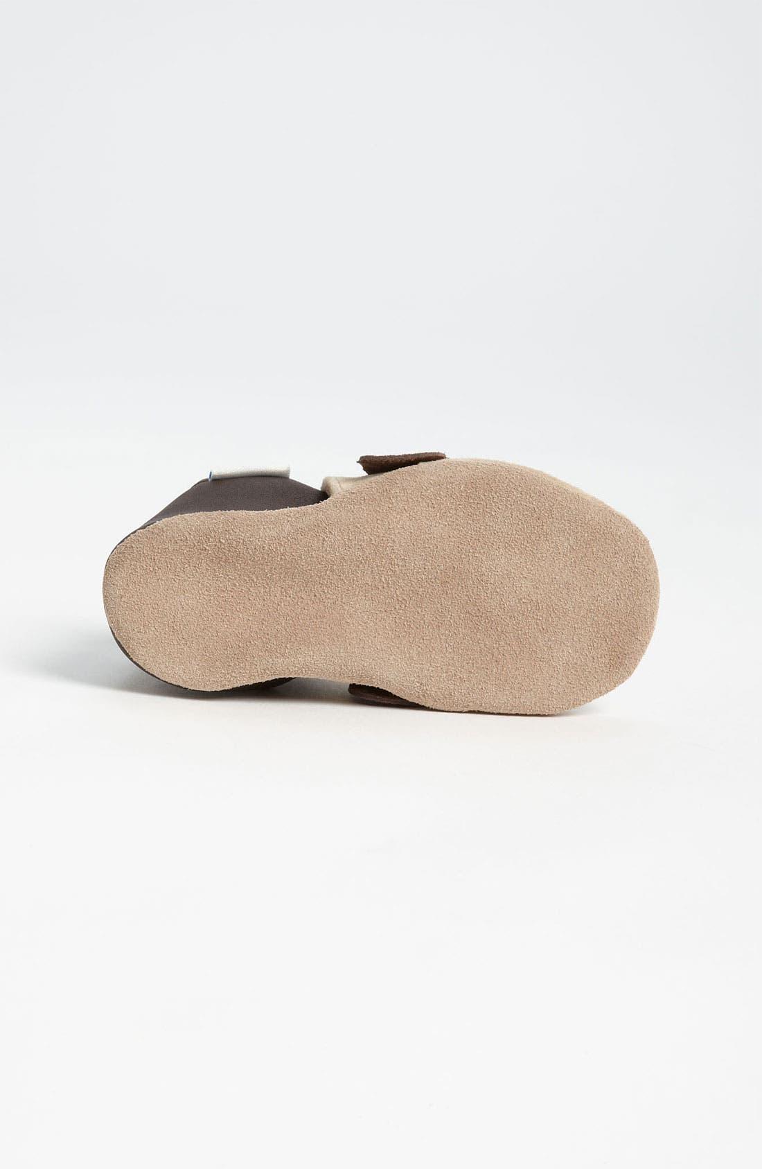 Alternate Image 4  - Robeez® '3D Dog' Crib Shoe (Baby & Walker)