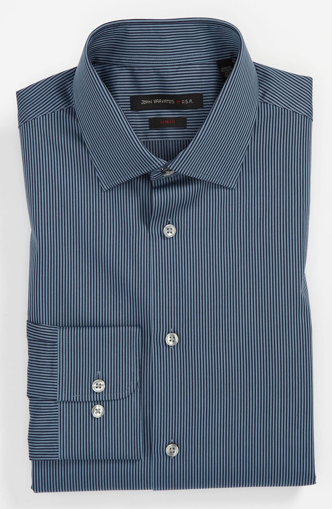 Alternate Image 1 Selected - John Varvatos Star USA Slim Fit Dress Shirt