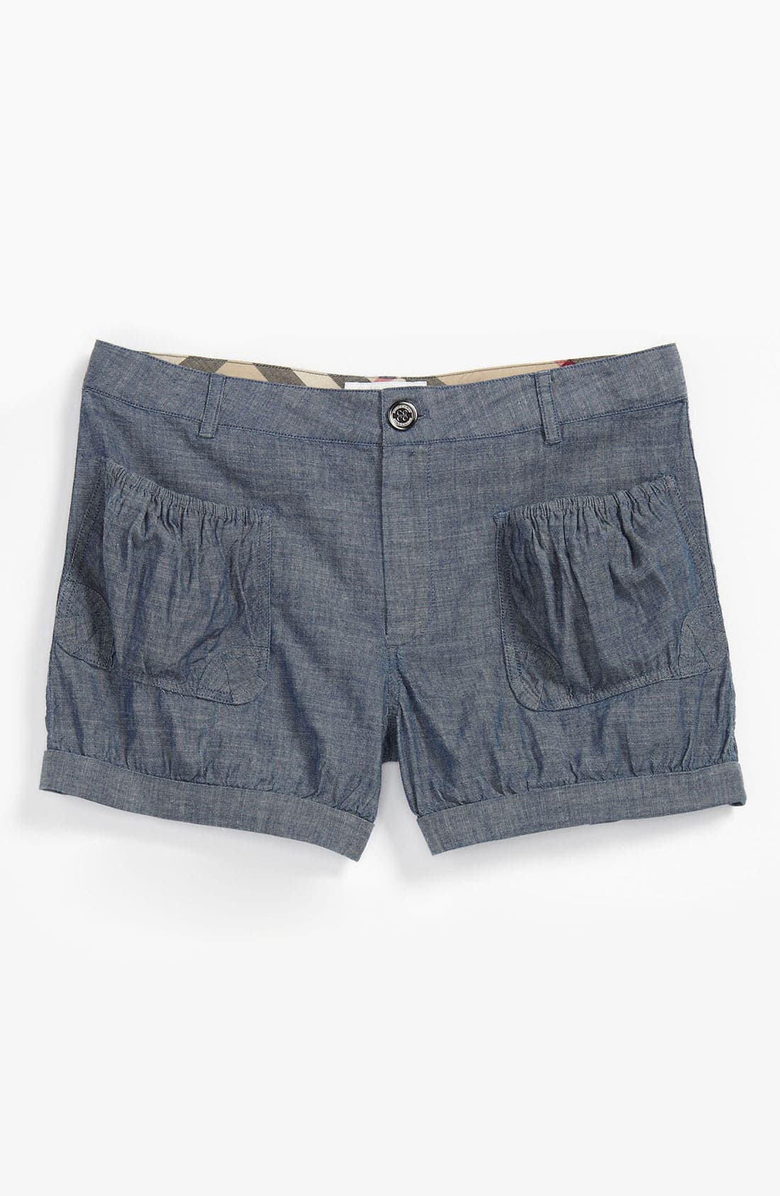 Alternate Image 1 Selected - Burberry 'Palma' Shorts (Little Girls & Big Girls)