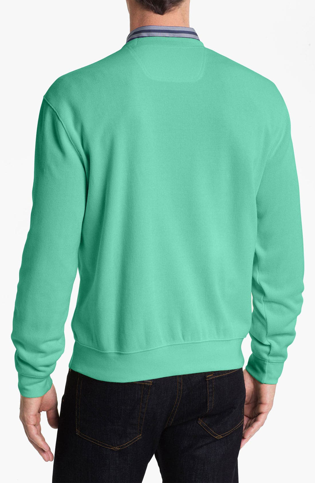 Alternate Image 2  - Façonnable Crewneck Regular Fit Sweatshirt