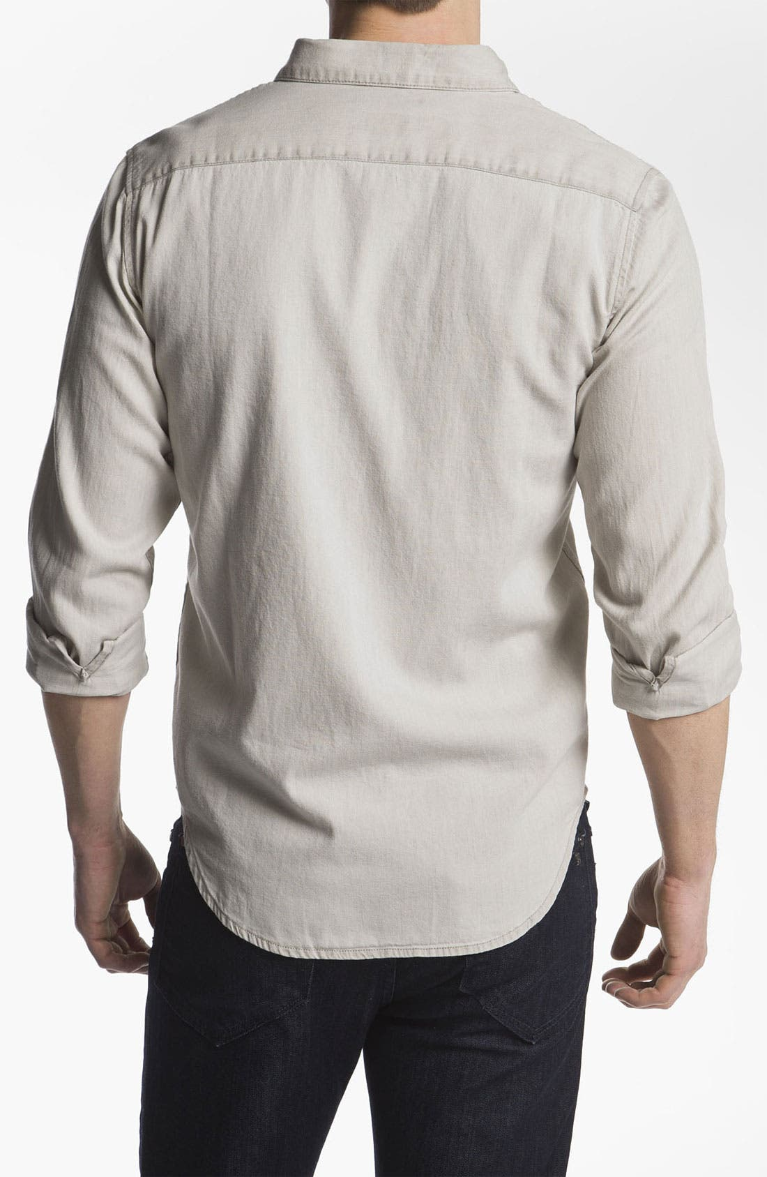 Alternate Image 2  - RVCA 'Bleach' Slim Fit Sport Shirt