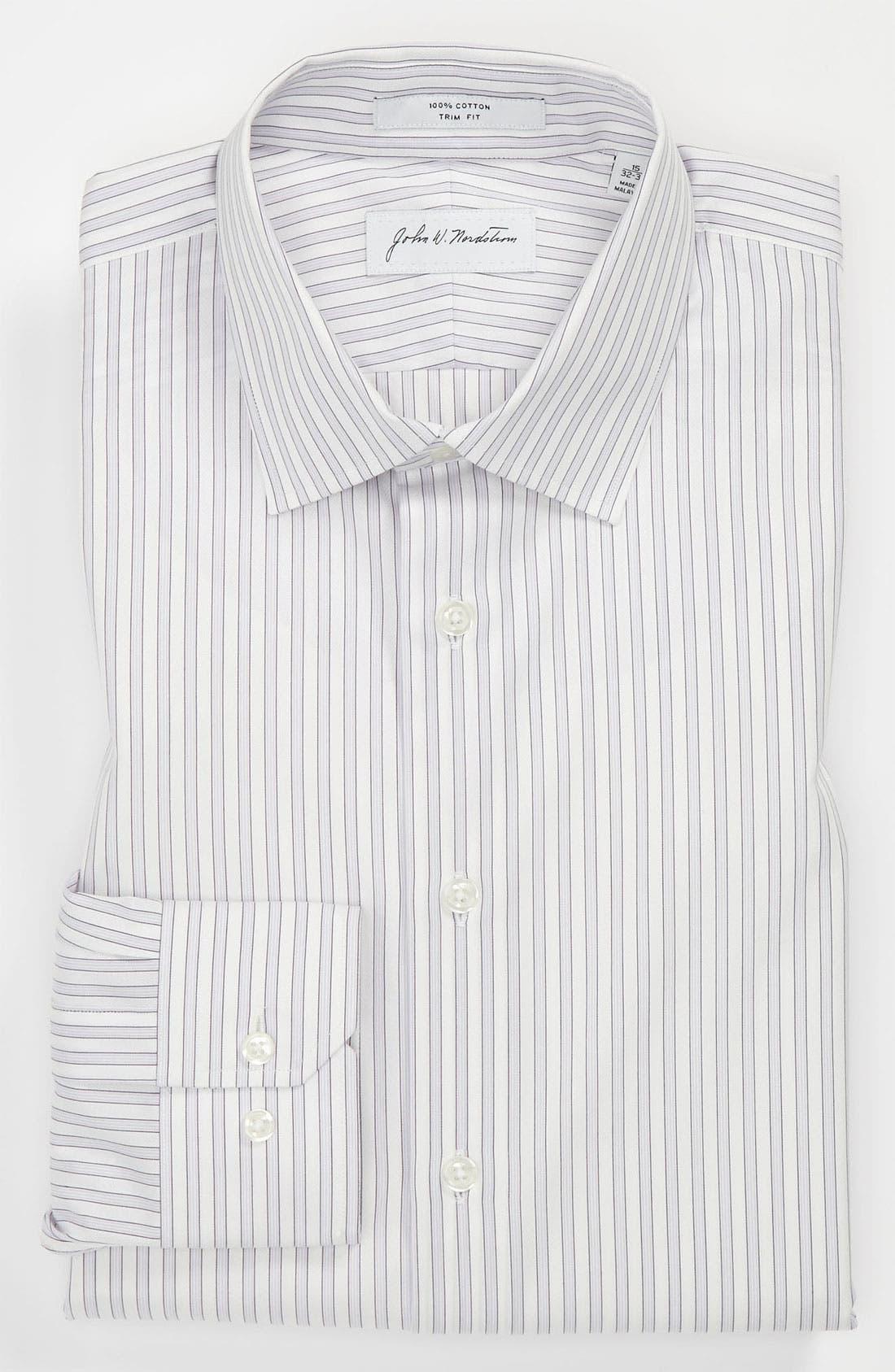 Alternate Image 1 Selected - John W. Nordstrom Trim Fit Dress Shirt