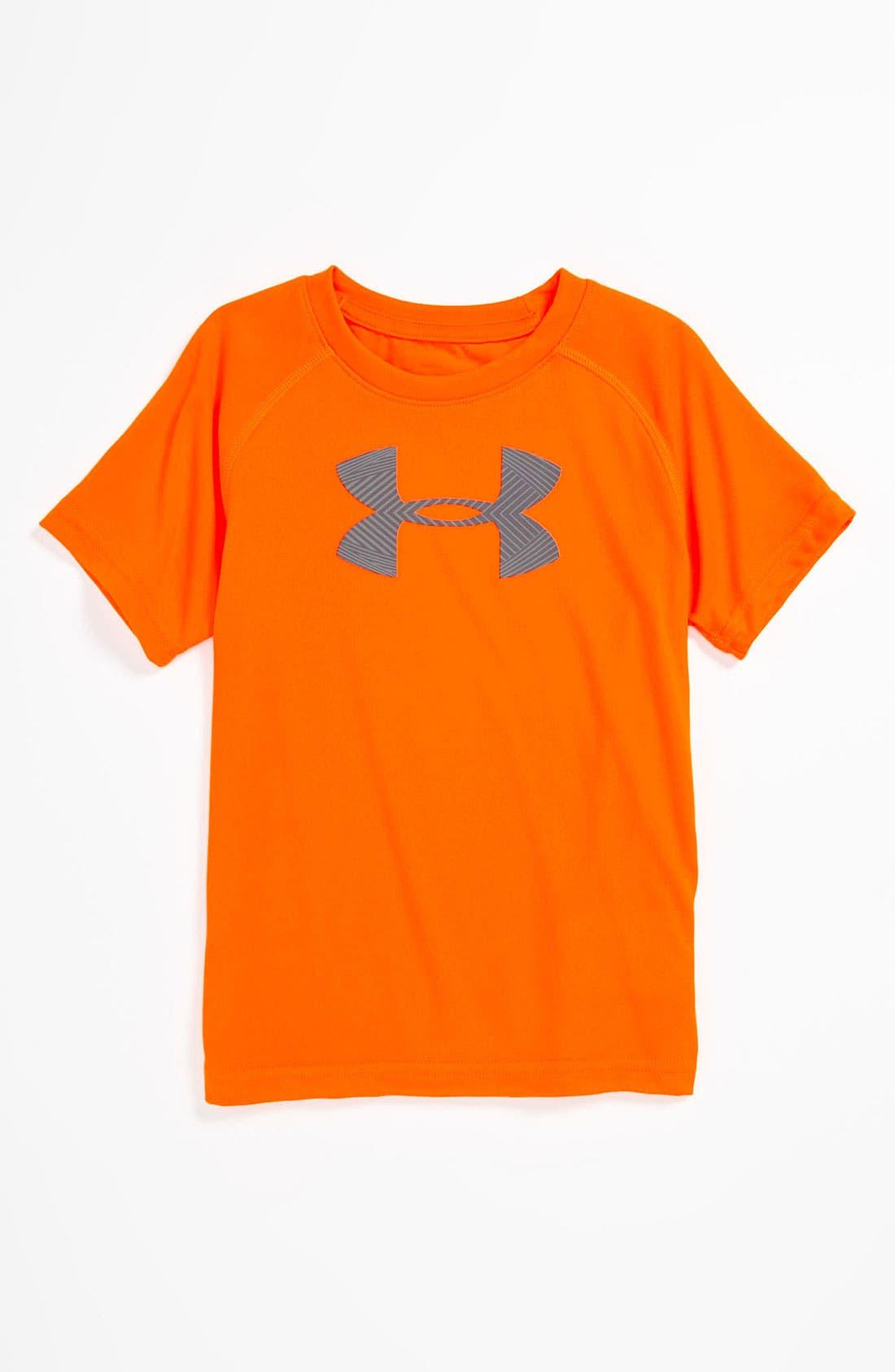Alternate Image 1 Selected - Under Armour HeatGear® T-Shirt (Little Boys)
