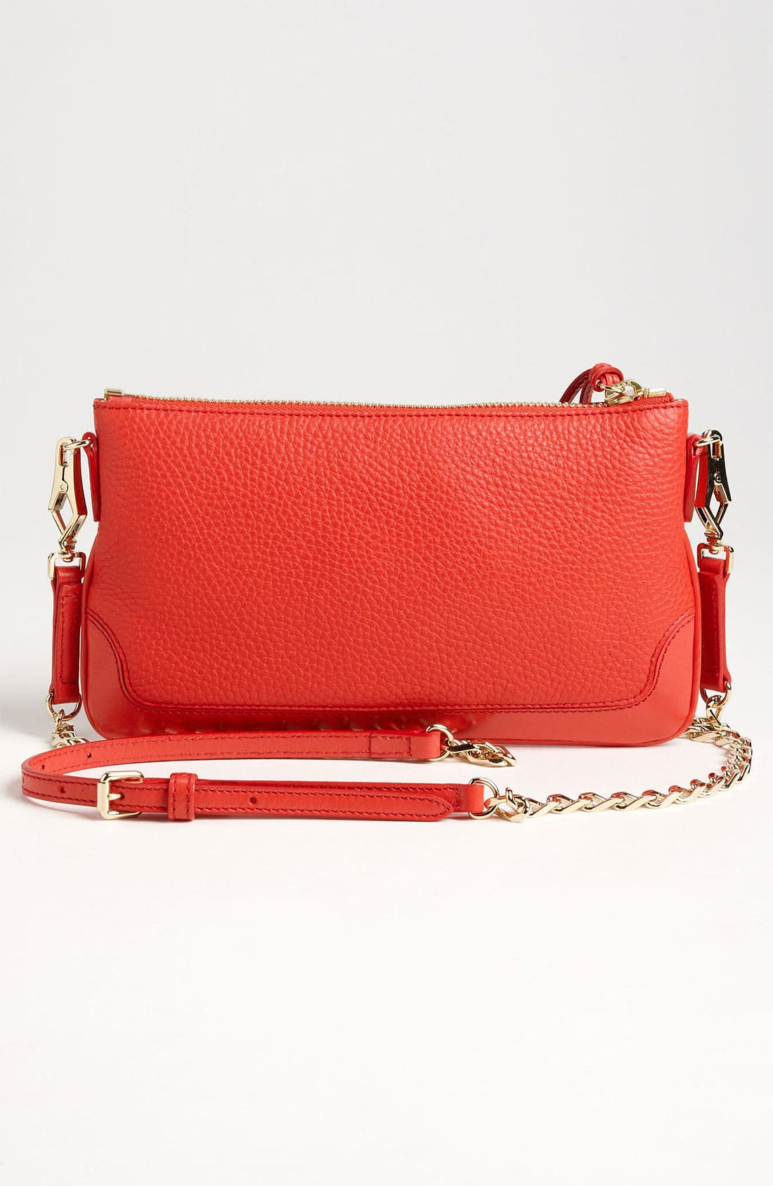 Alternate Image 4  - Burberry 'London Grainy' Crossbody Clutch