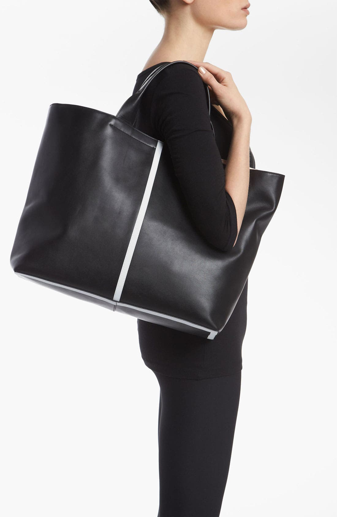 Alternate Image 2  - Reed Krakoff 'Track' Glazed Leather Tote