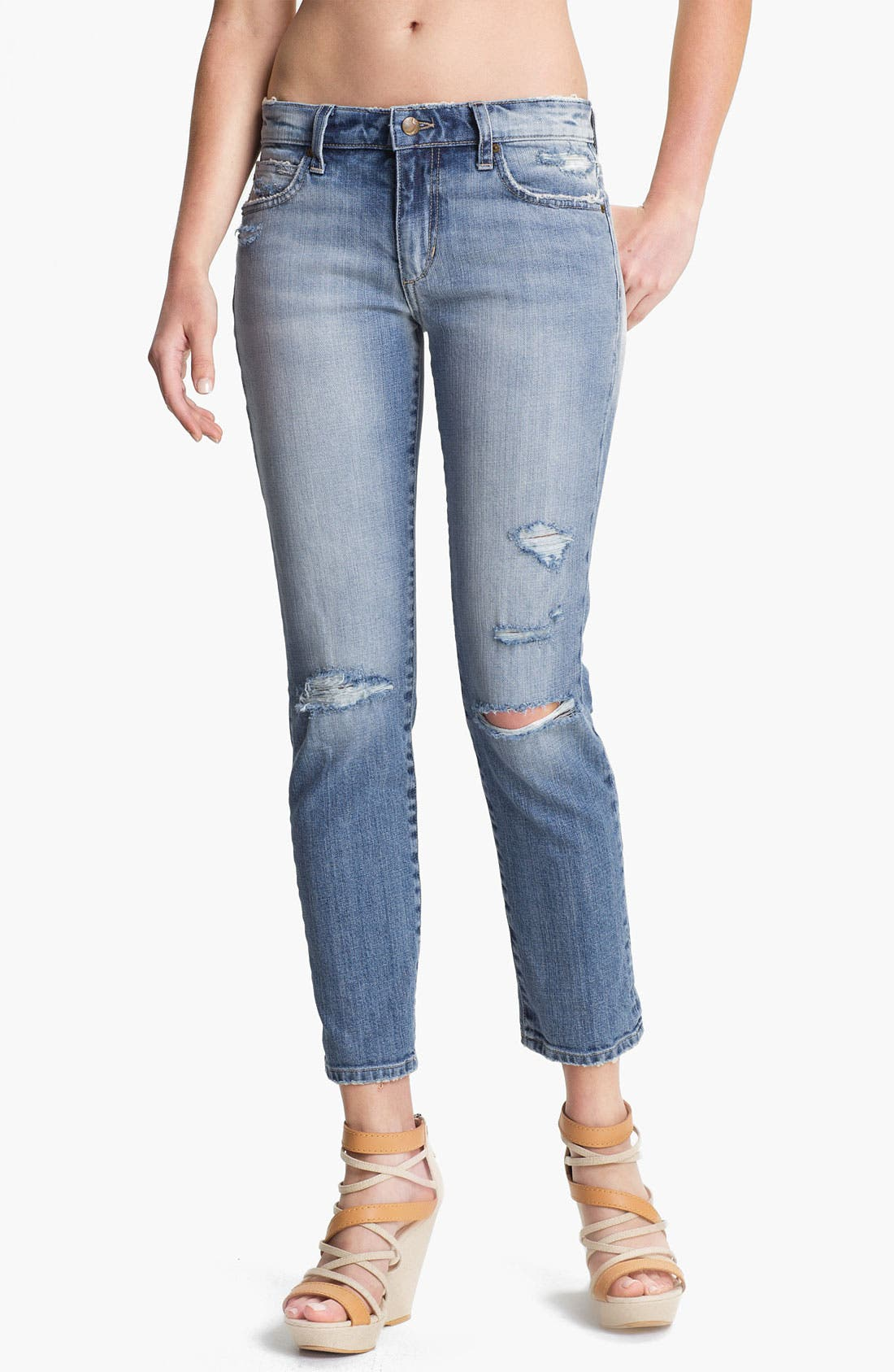 Alternate Image 1 Selected - Joe's 'High Water' Relaxed Crop Jeans (Keri Vintage Reserve)