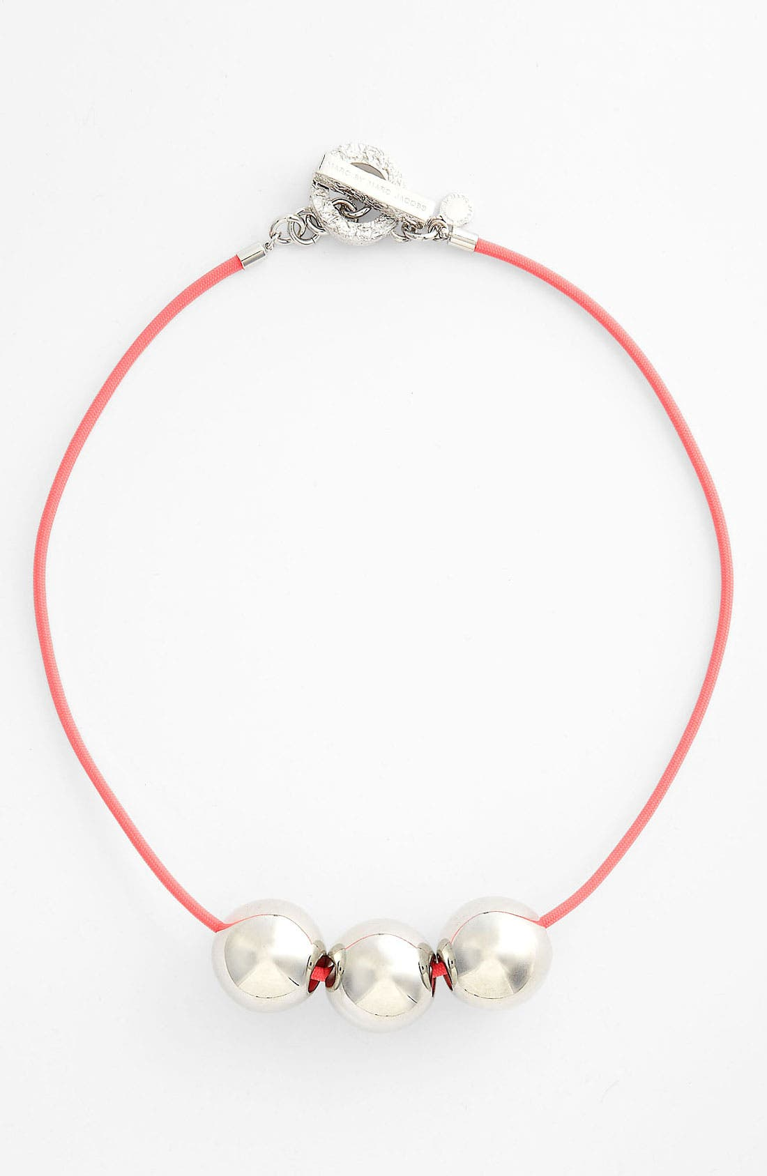 Alternate Image 1 Selected - MARC BY MARC JACOBS 'Exploded Bow' Beaded Necklace