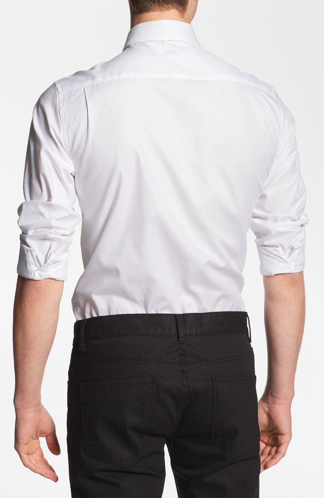 Alternate Image 2  - Topman 'Lux Collection' Dress Shirt