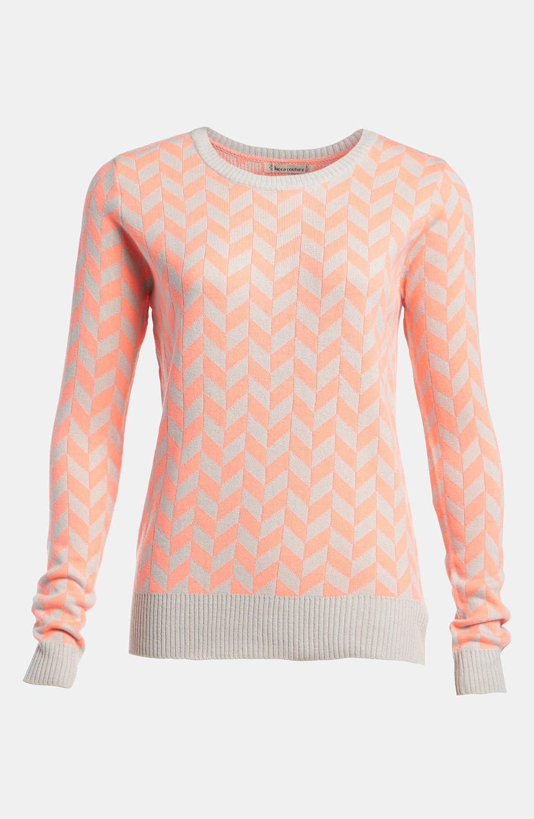 Main Image - Lucca Couture Zigzag Sweater