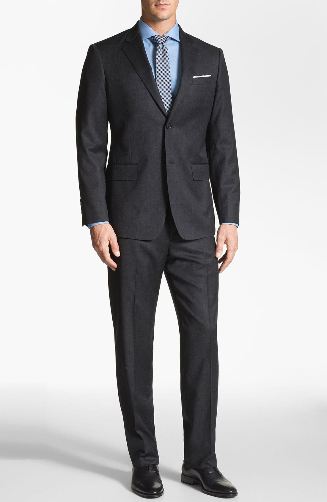 Main Image - John W. Nordstrom 'Travel' Classic Fit Wool Suit