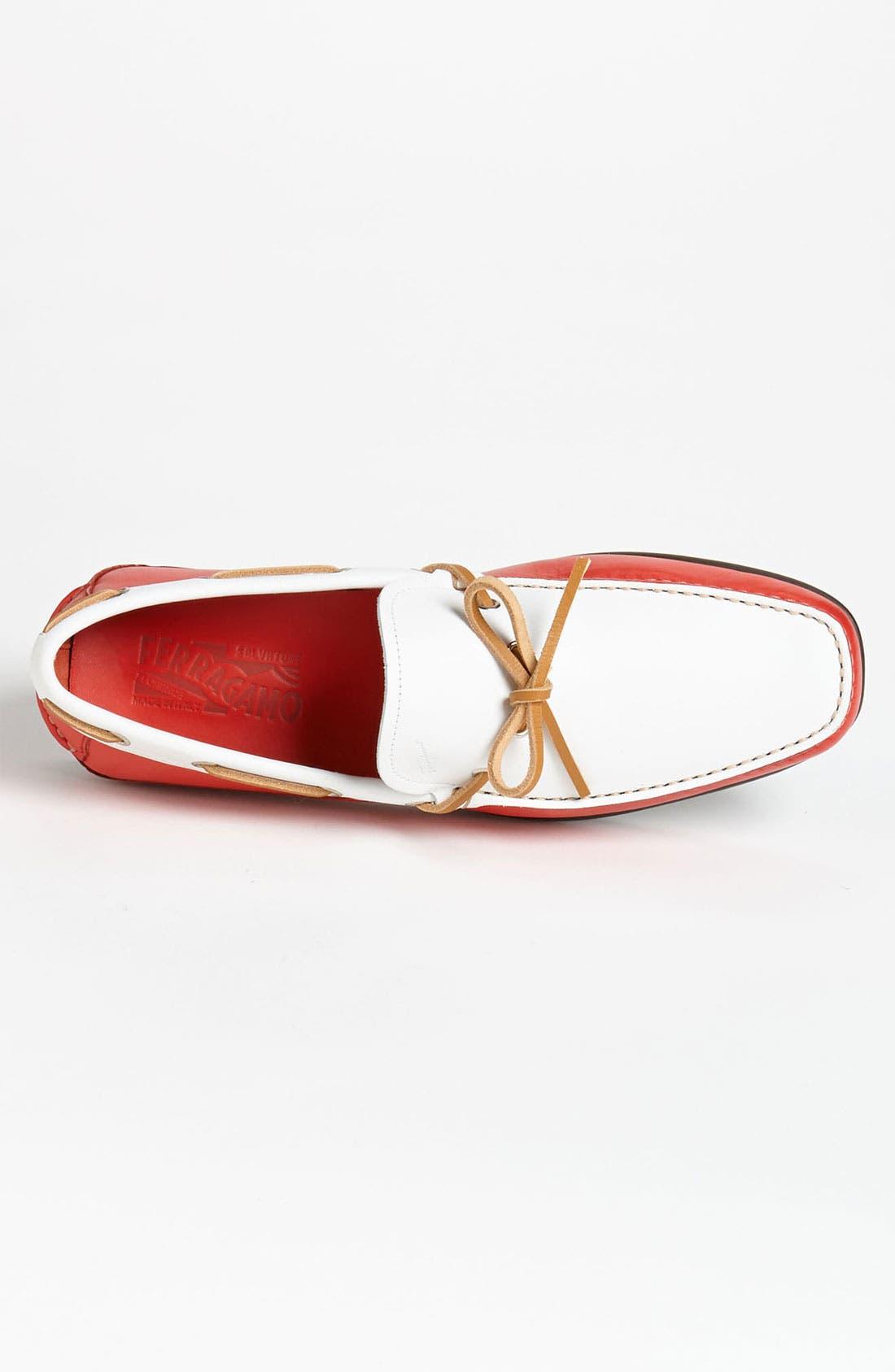 Alternate Image 3  - Salvatore Ferragamo 'Mango' Driving Shoe