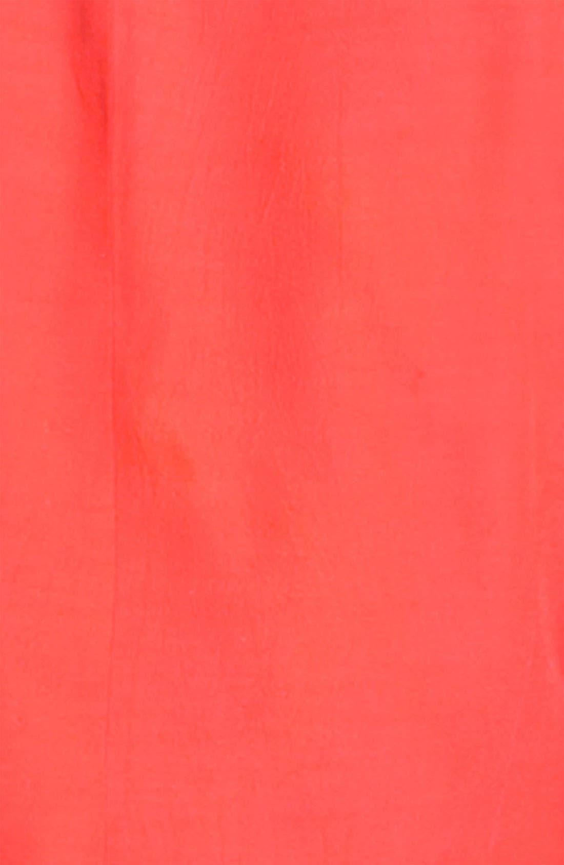 Alternate Image 4  - Sejour Ruched Sleeve Tuxedo Jacket (Plus)