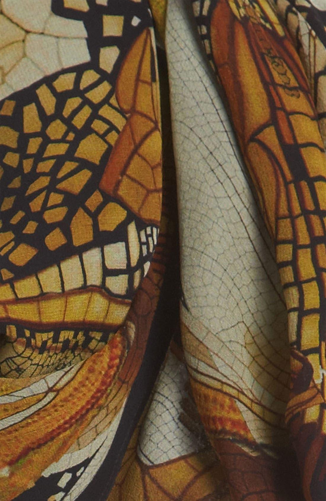Alternate Image 2  - Alexander McQueen Silk Georgette Shawl