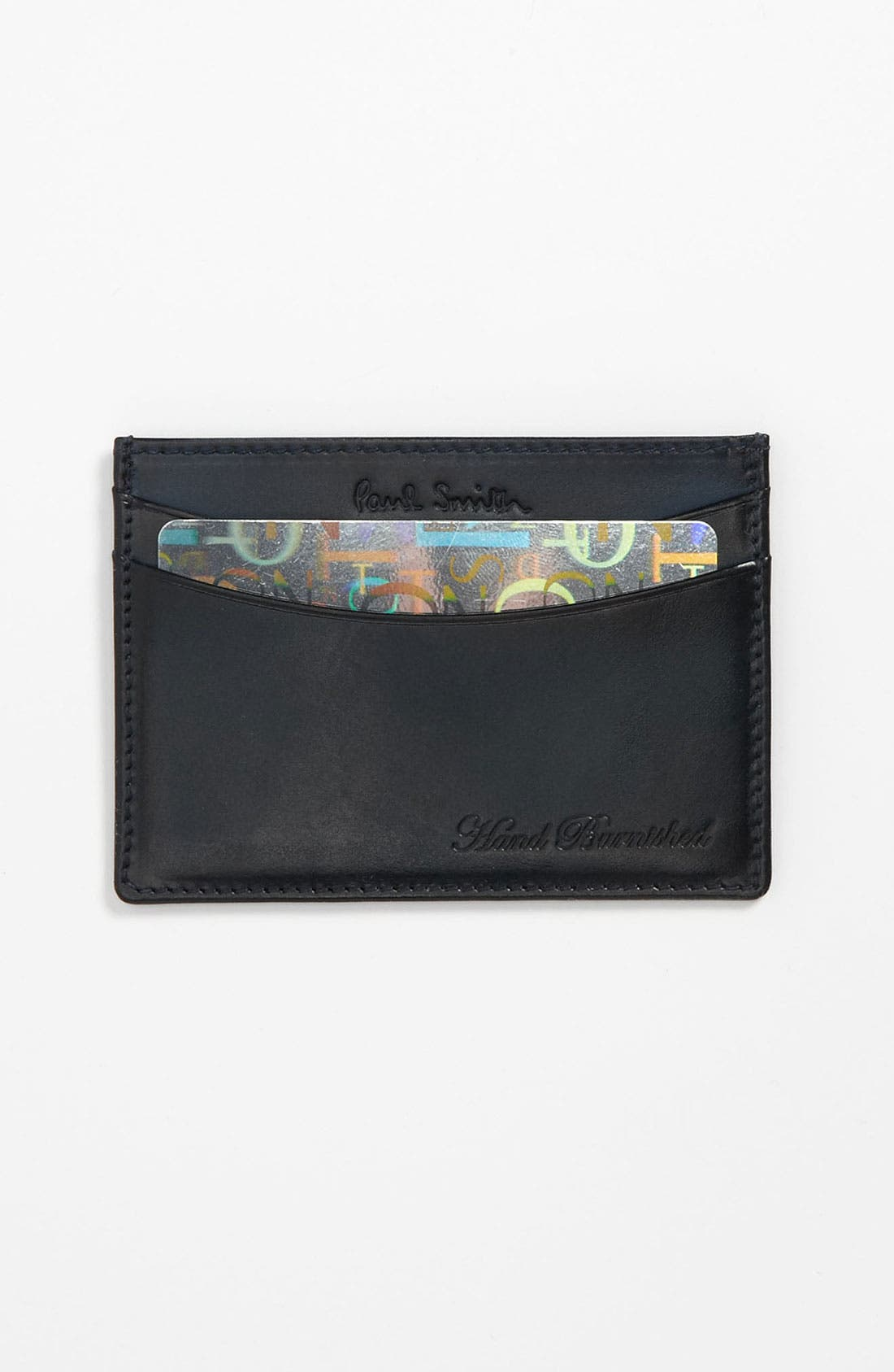 Main Image - Paul Smith Accessories Burnished Card Case