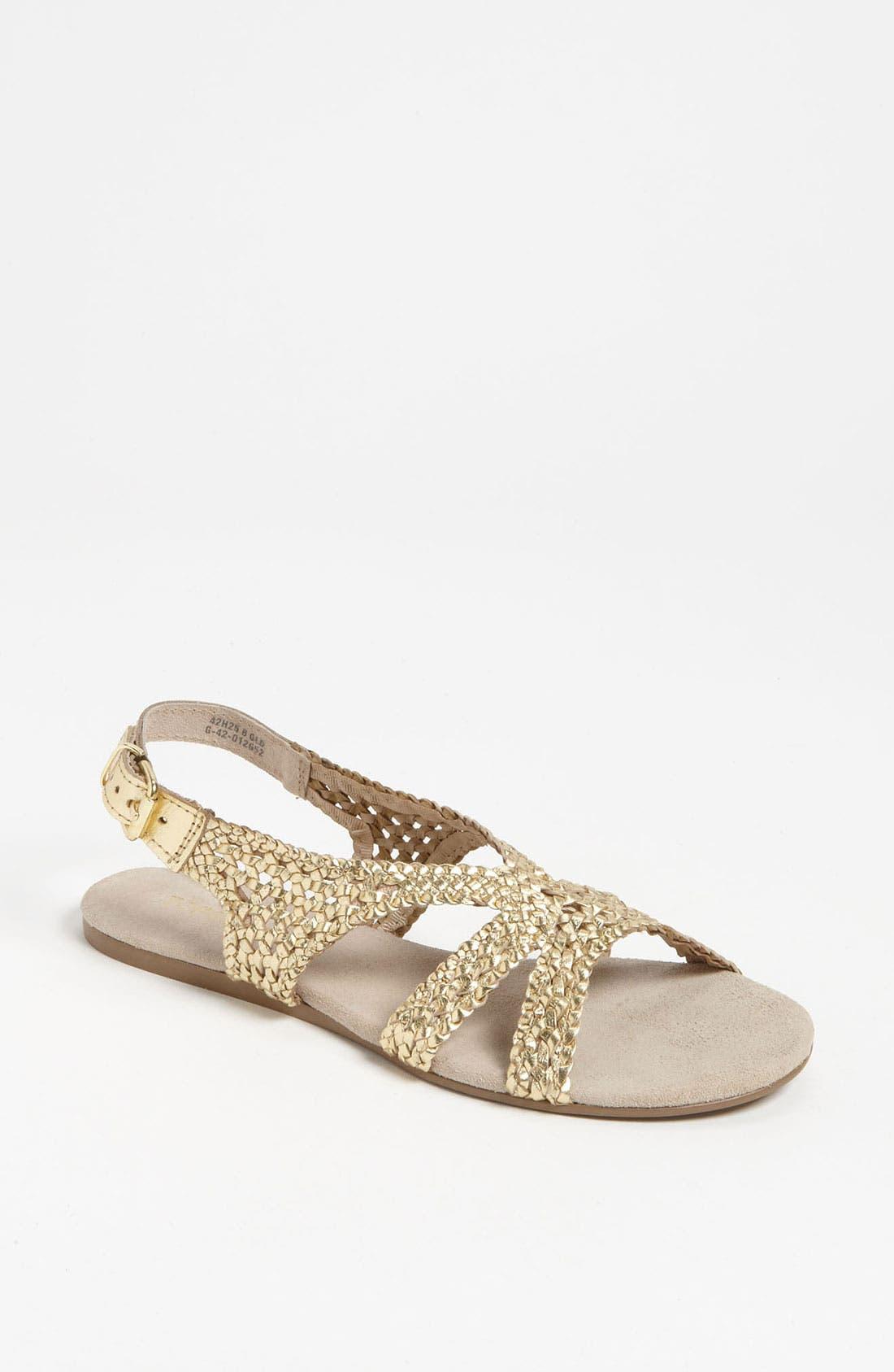 Main Image - Topshop 'Hinders' Woven Sandal