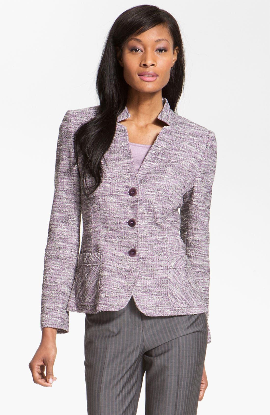 Alternate Image 1 Selected - Santorelli 'Dina' Jacket