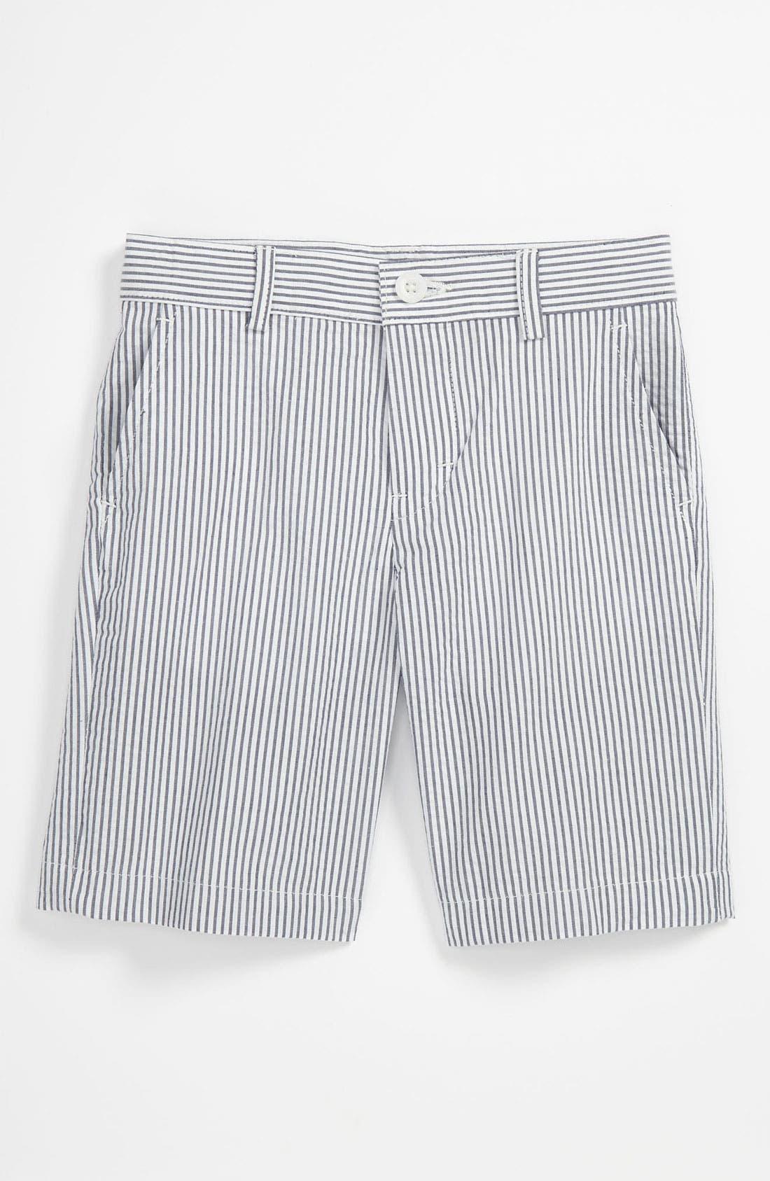 Main Image - Nordstrom 'Timothy' Seersucker Shorts (Toddler)