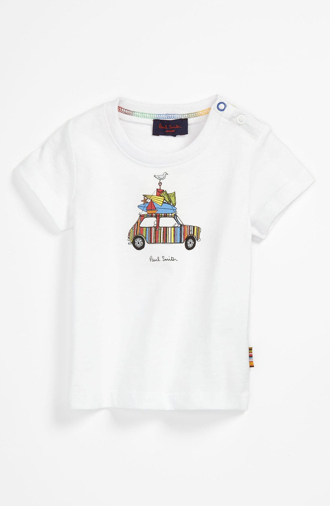 Alternate Image 1 Selected - Paul Smith Junior 'Car' T-Shirt (Baby)