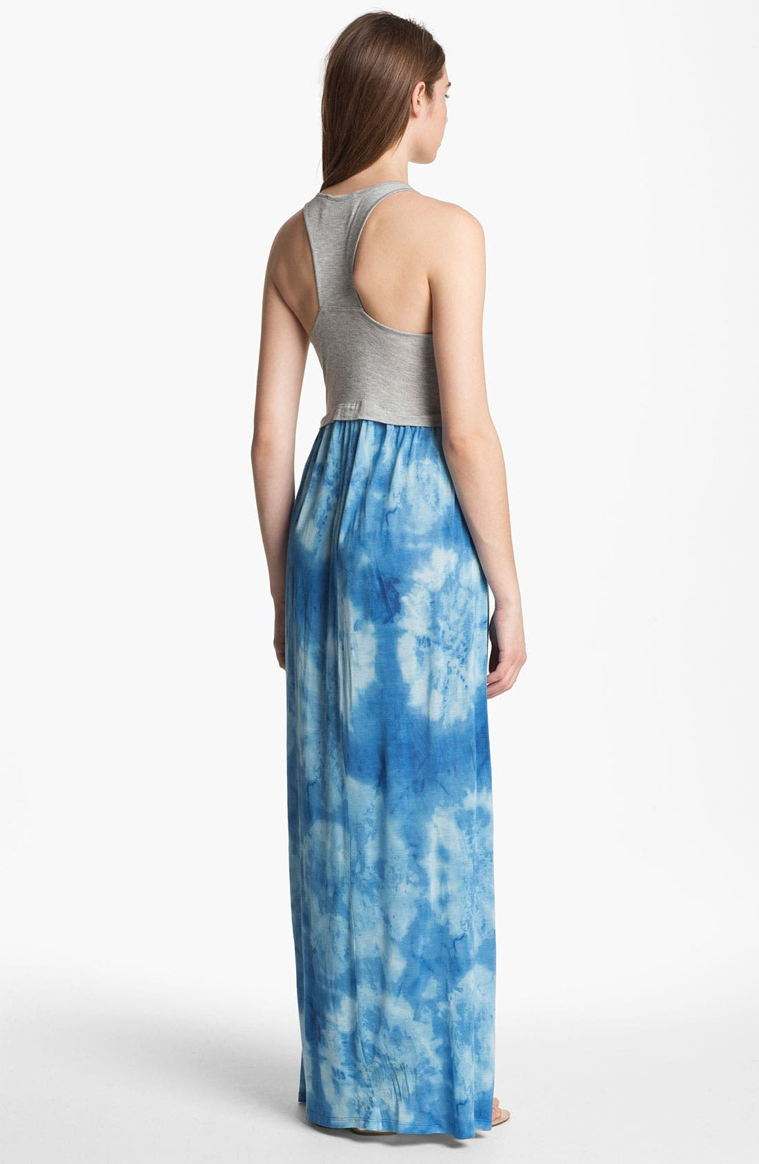Alternate Image 2  - Two by Vince Camuto Tie Dye Racerback Maxi Dress