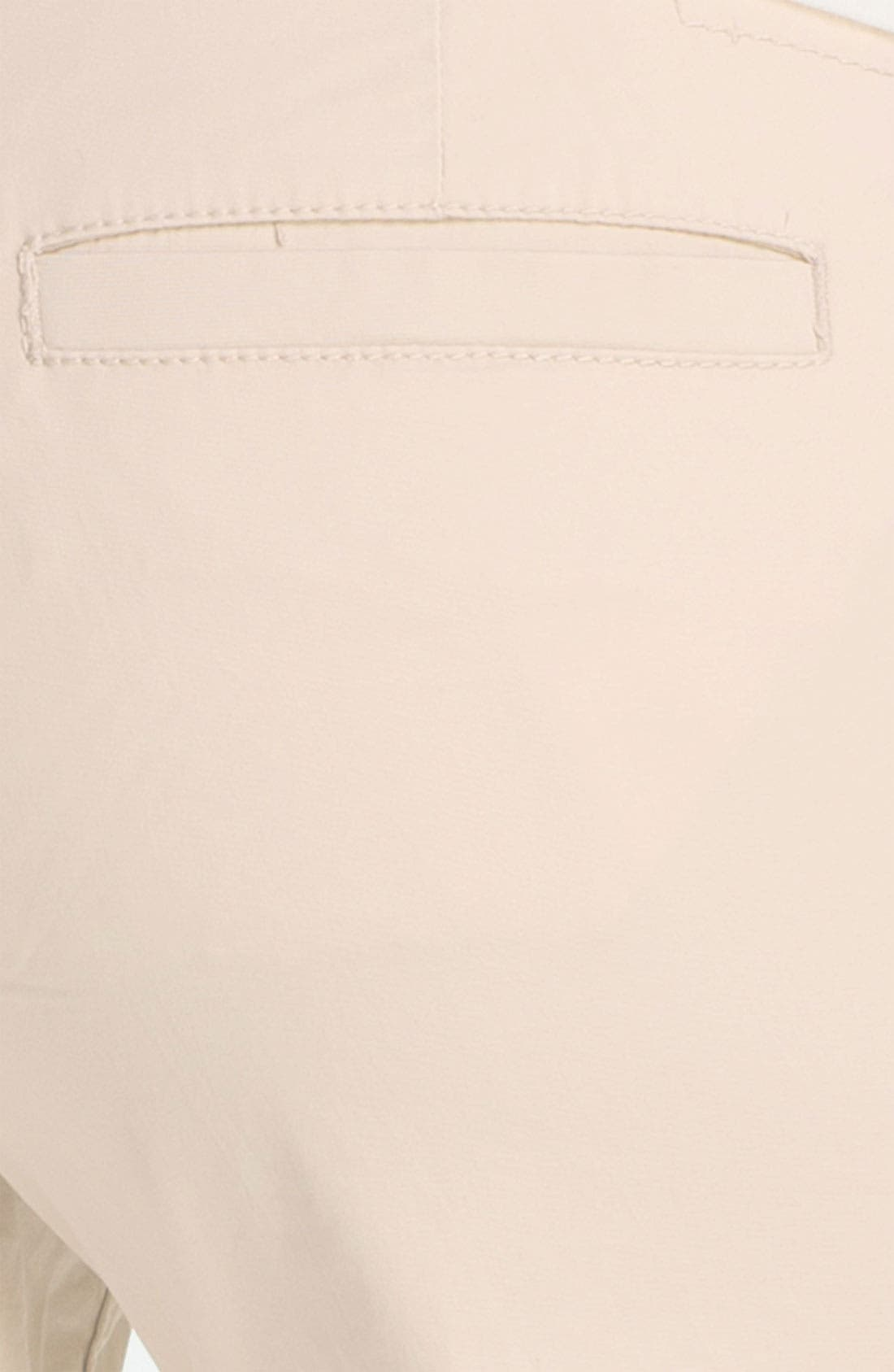Alternate Image 3  - Jag Jeans 'Maitland' Crop Twill Pants (Petite)