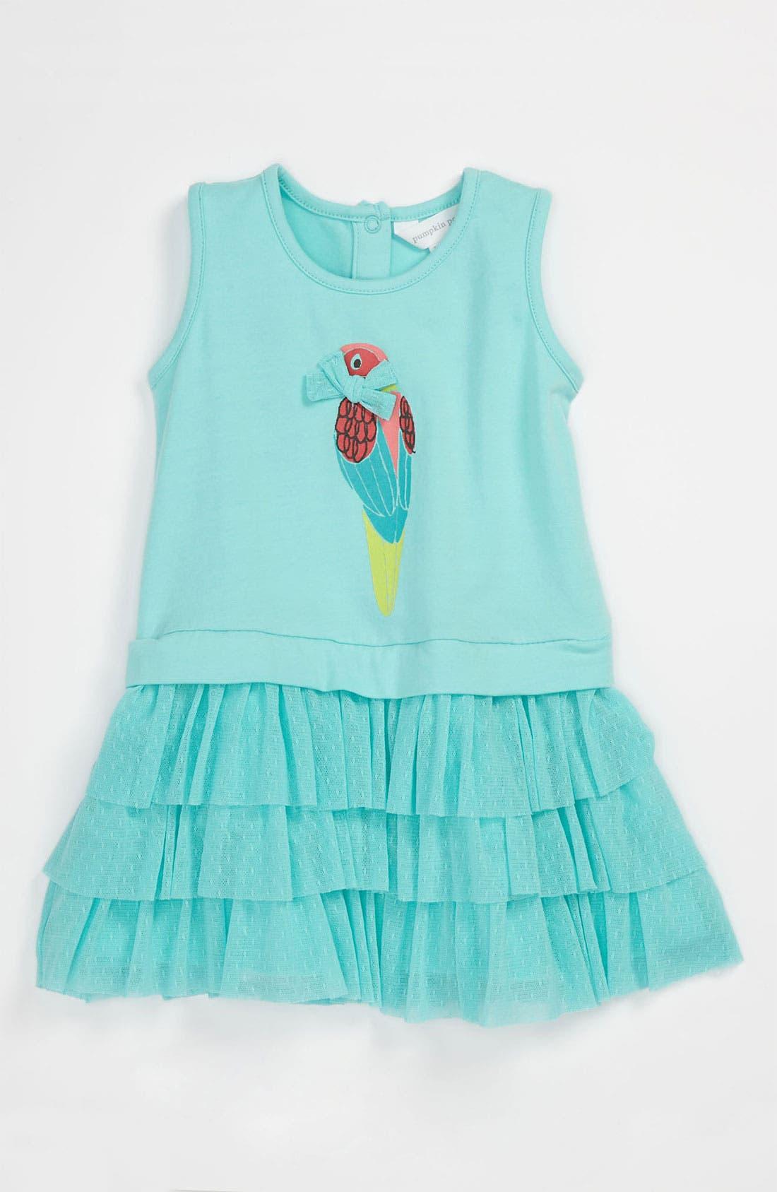 Main Image - Pumpkin Patch 'Geraldine' Tier Dress (Baby)
