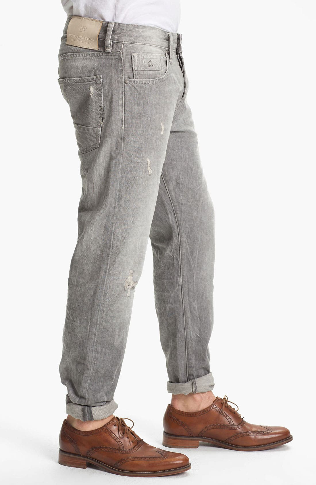 Alternate Image 3  - Scotch & Soda 'Ralston' Slim Straight Leg Jeans (Stoner)