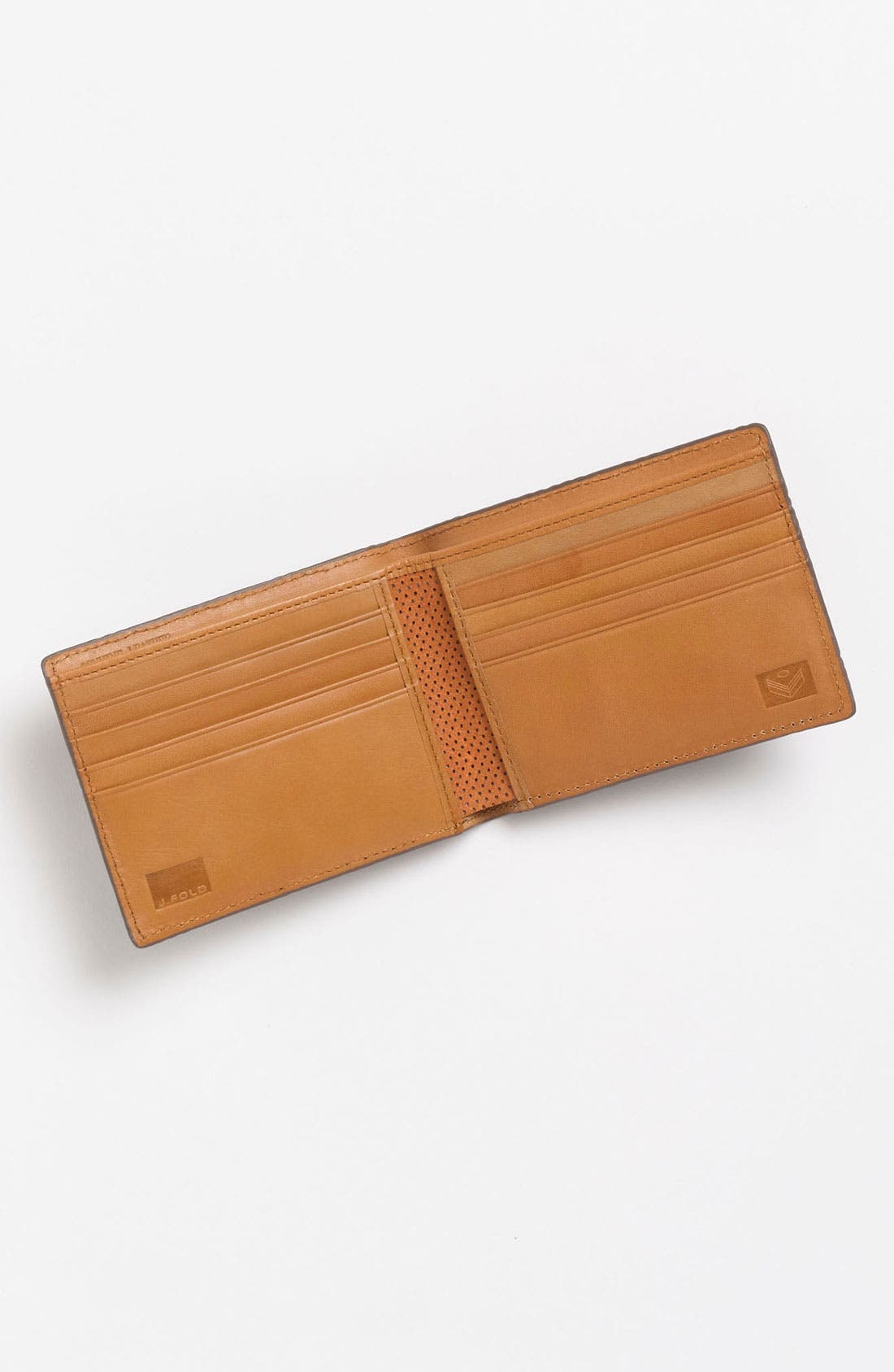 Alternate Image 3  - J Fold 'Microperf' Slimfold Wallet