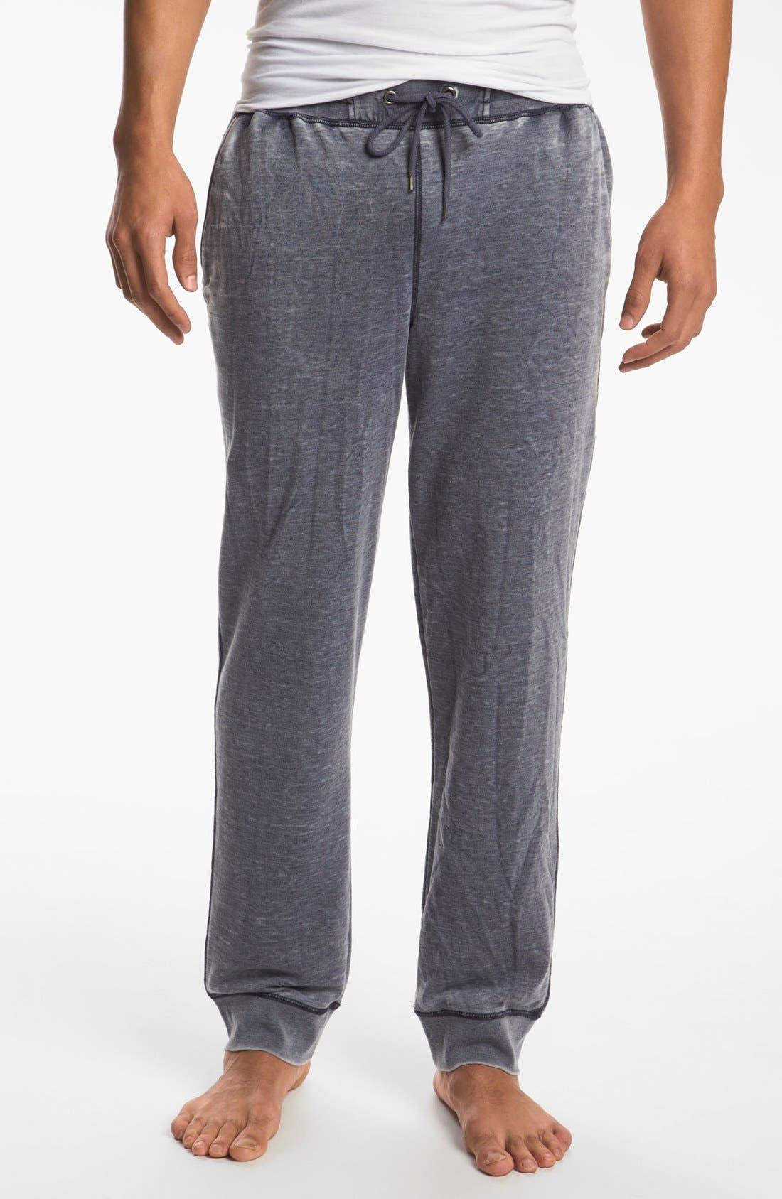 Alternate Image 1 Selected - Daniel Buchler Cotton & Polyester Lounge Pants