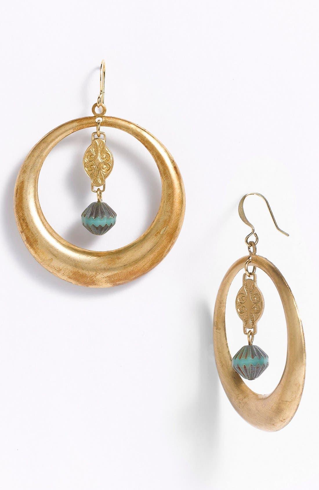 Alternate Image 1 Selected - Verdier Jewelry Hoop Earrings