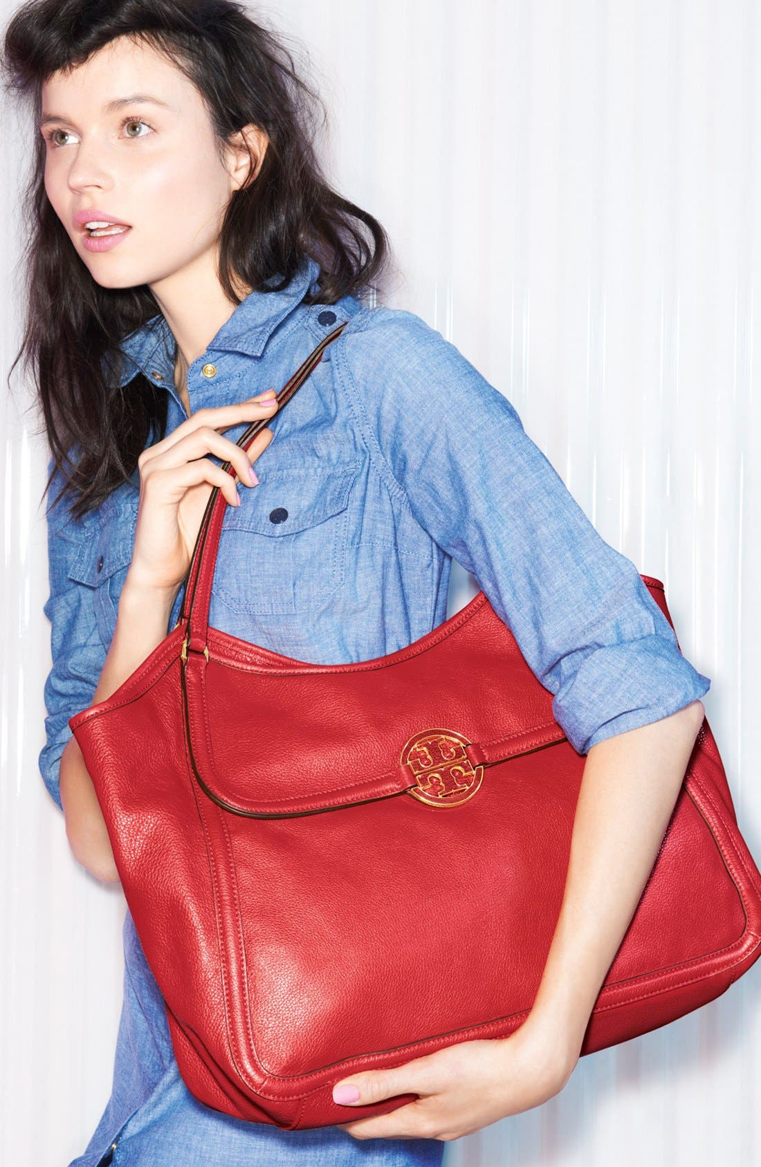 Alternate Image 5  - Tory Burch 'Amanda' Leather Tote