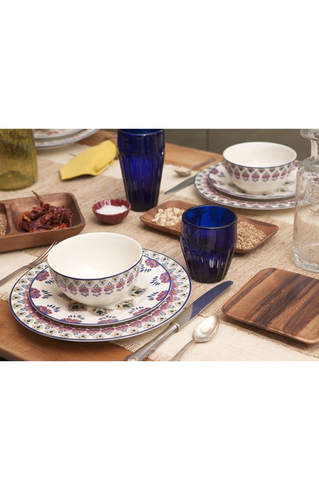 Alternate Image 3  - Porcelain Salad Plates (Set of 4)