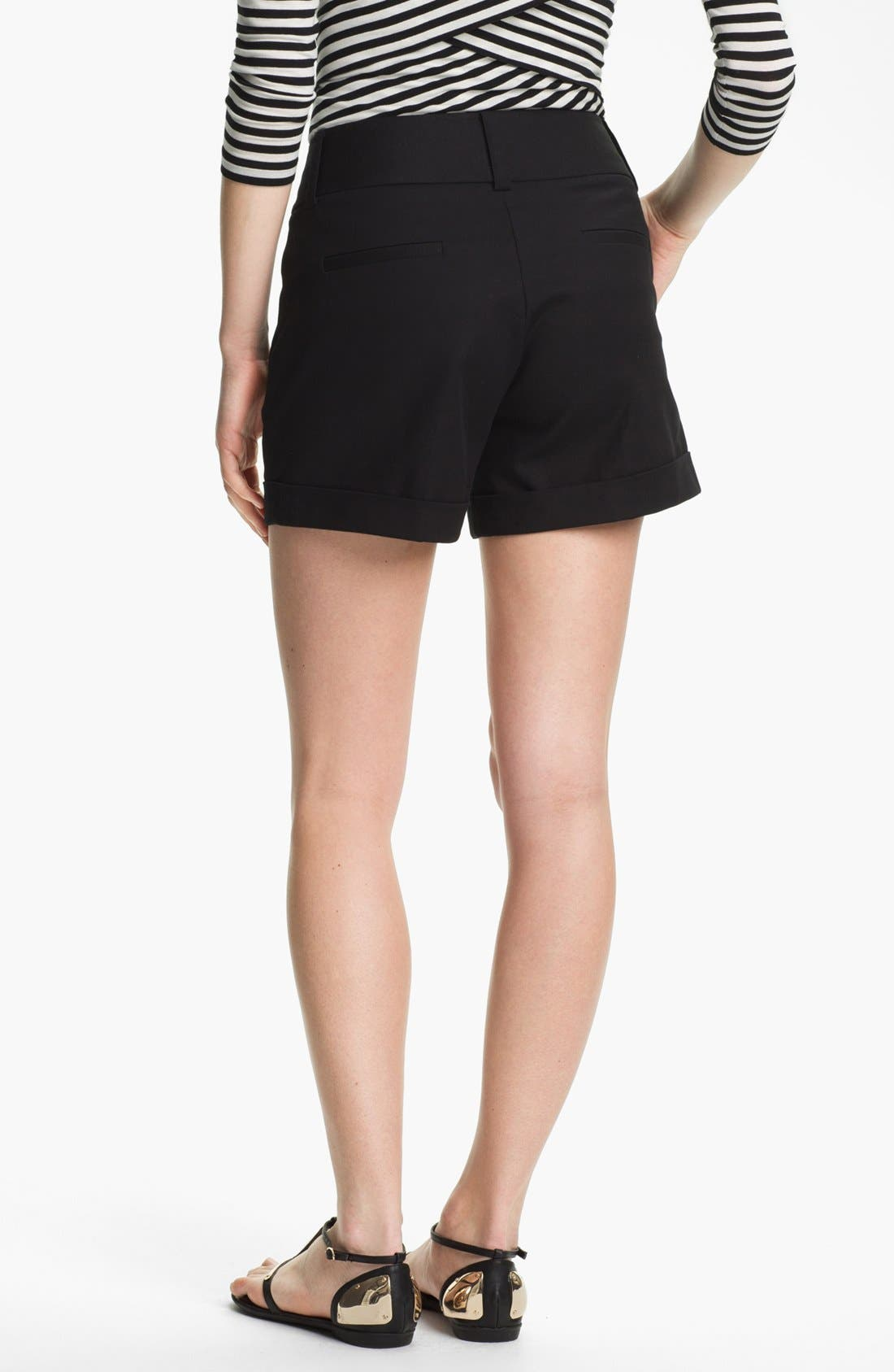 Alternate Image 2  - Vince Camuto Cuff Shorts (Regular & Petite)